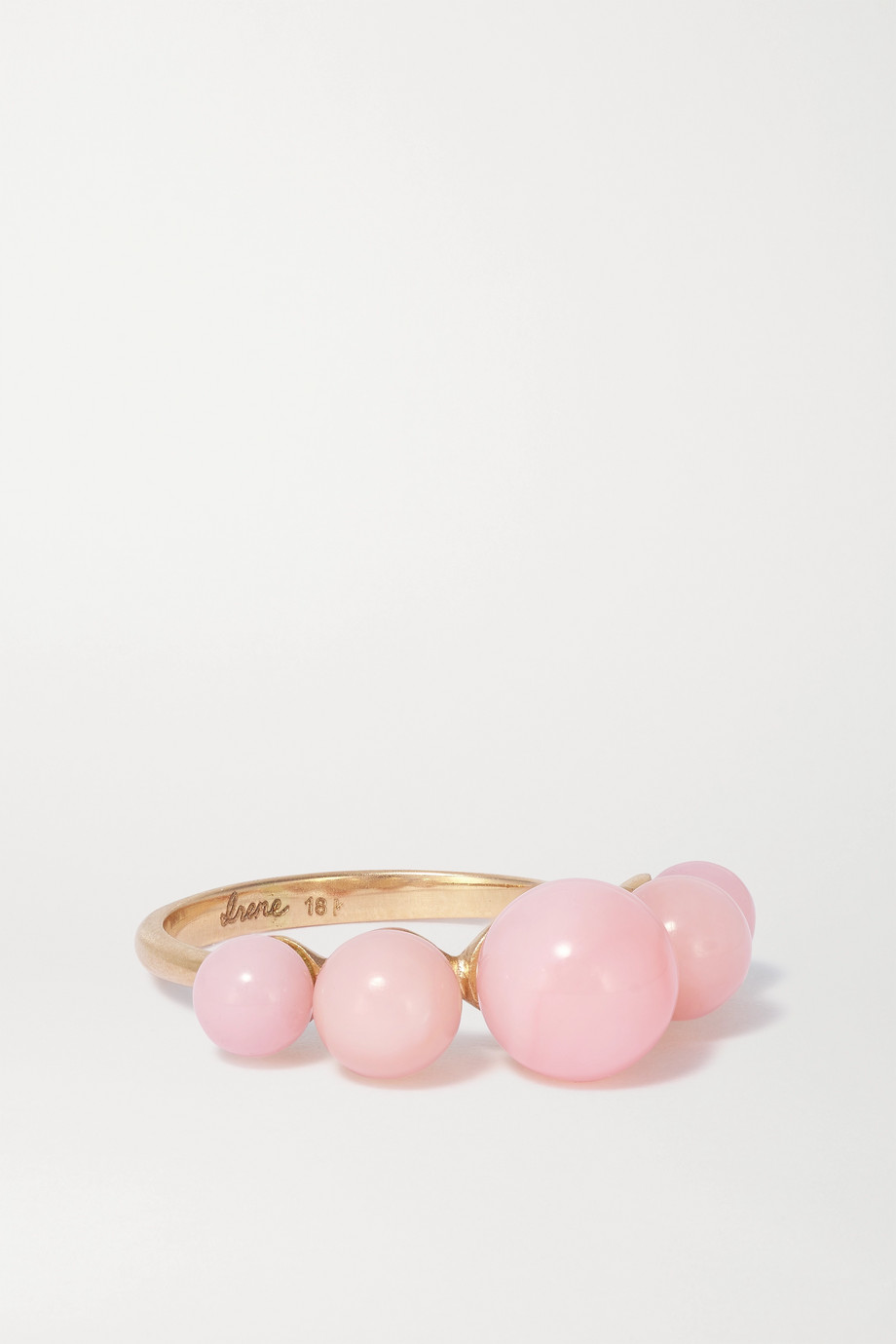 IRENE NEUWIRTH Gumball 18-karat rose gold opal ring