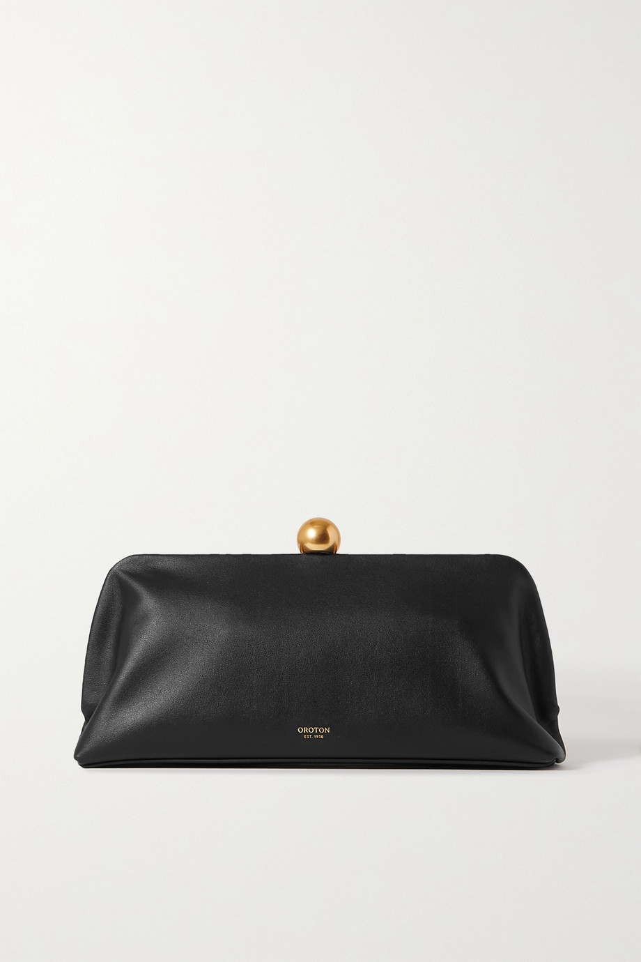 OROTON Nova leather clutch
