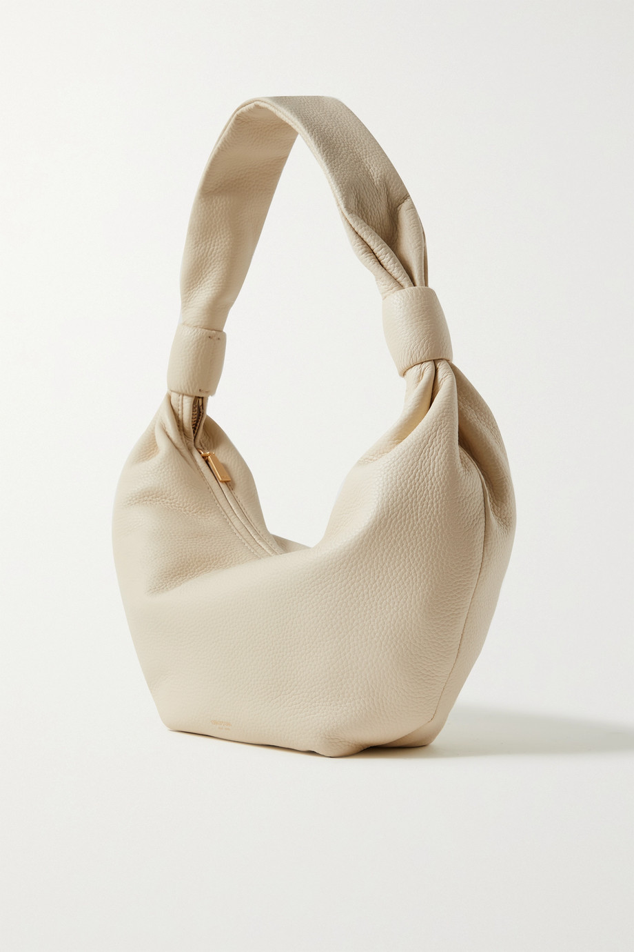 OROTON Malin knotted textured-leather shoulder bag