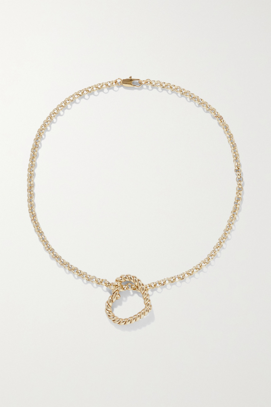 LAURA LOMBARDI Bambola gold-plated necklace