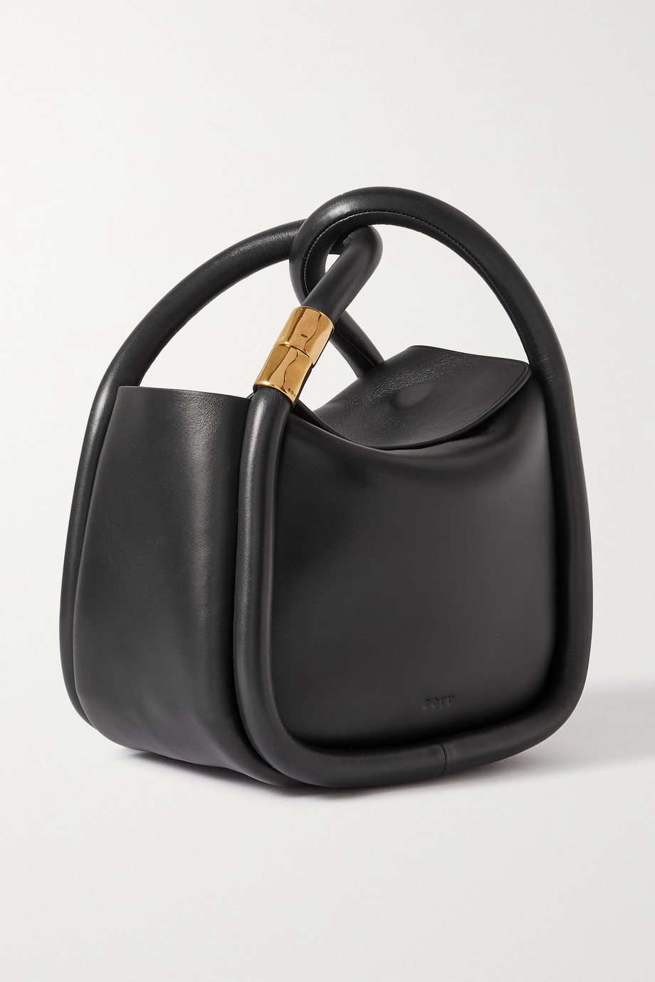 BOYY Wonton 20 leather tote,Black