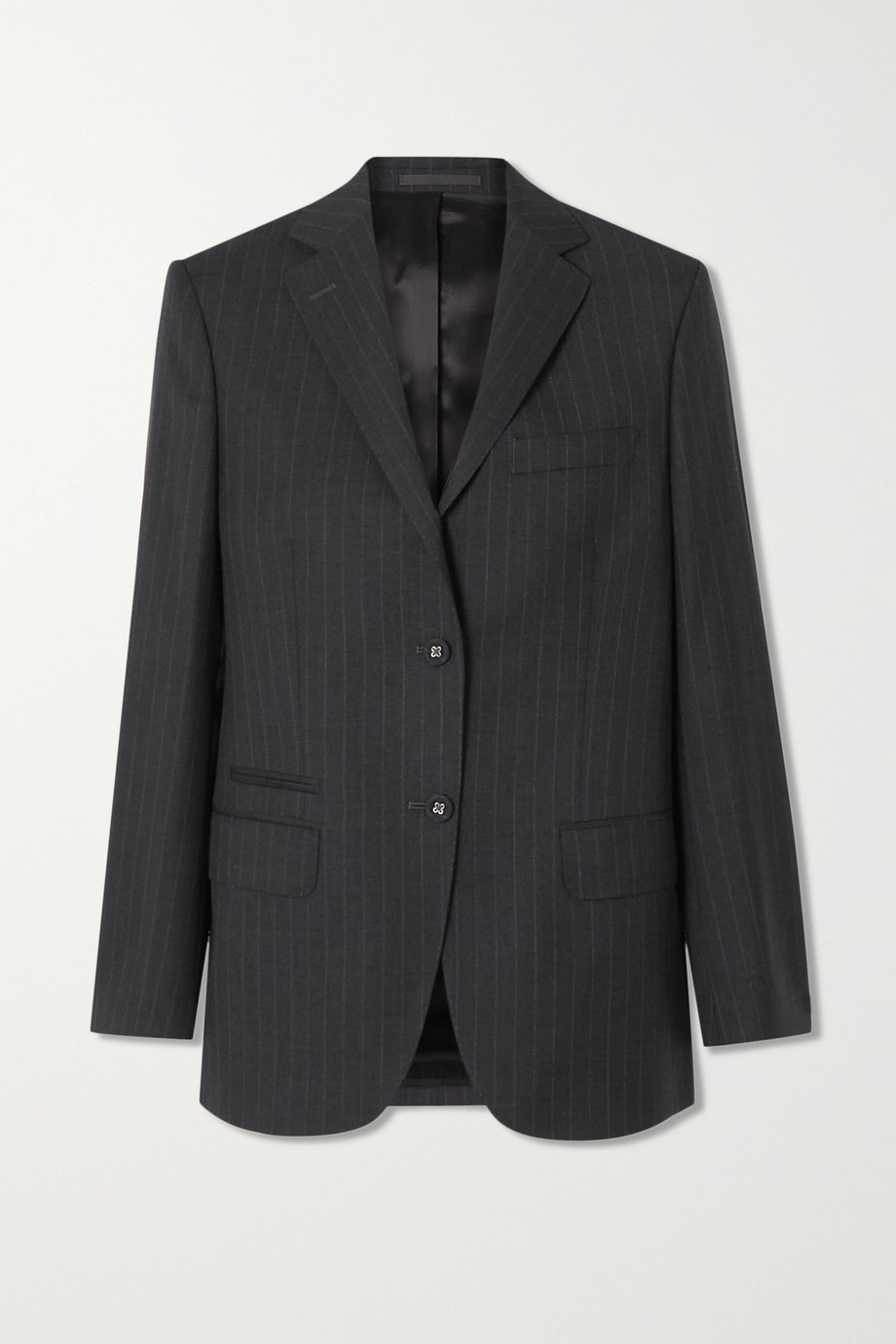 OFFICINE GÉNÉRALE Charlene pinstriped wool blazer