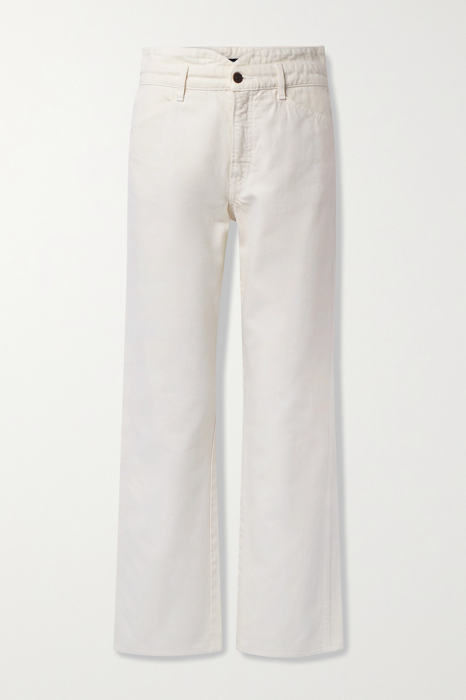 VERONICA BEARD Blake high-rise straight-leg jeans