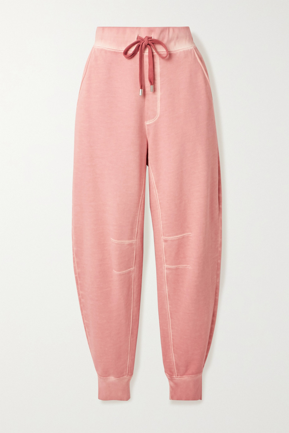 VERONICA BEARD Preslee cotton-terry track pants