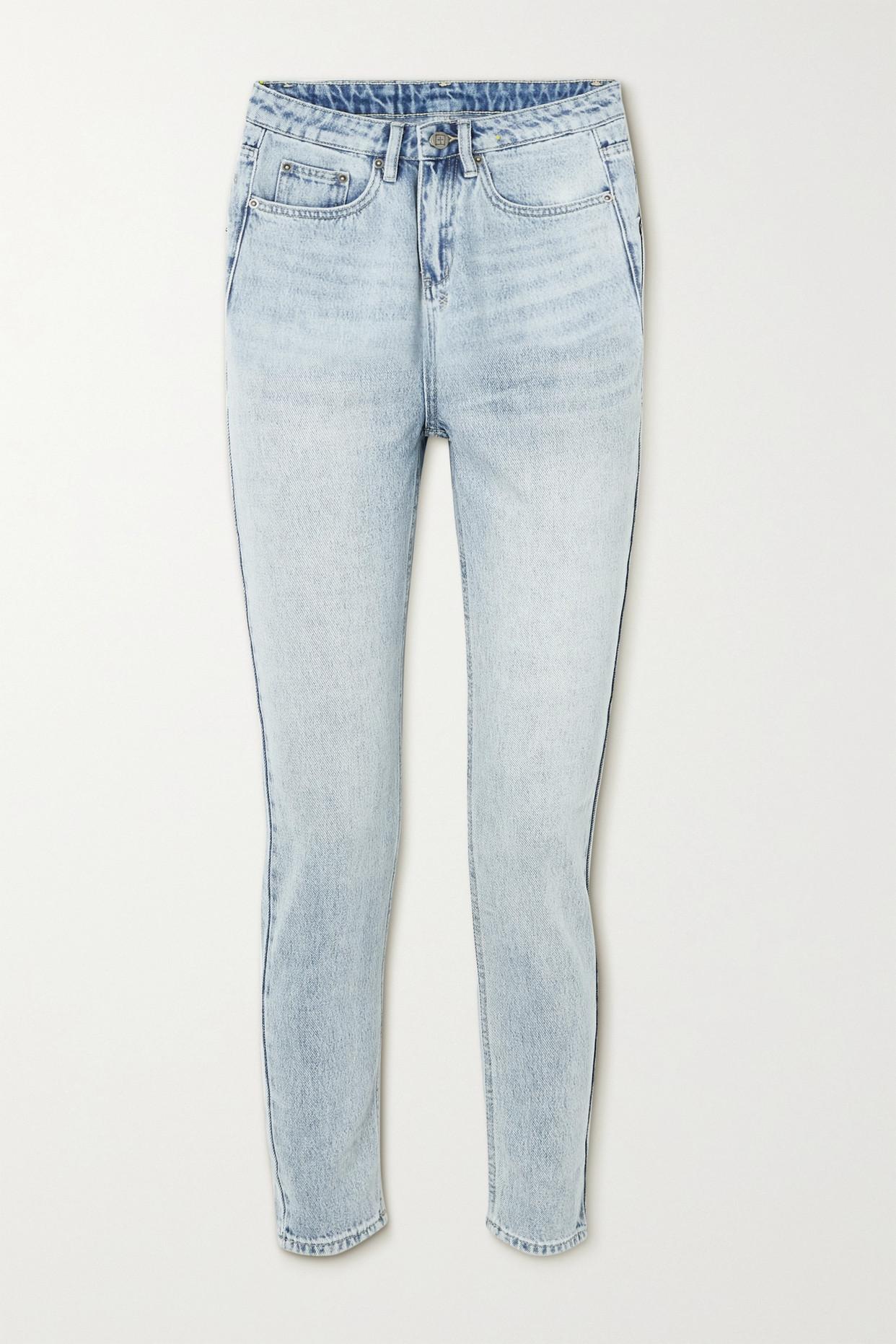 KSUBI - Nine O Cropped High-rise Slim-leg Jeans - Blue - 27