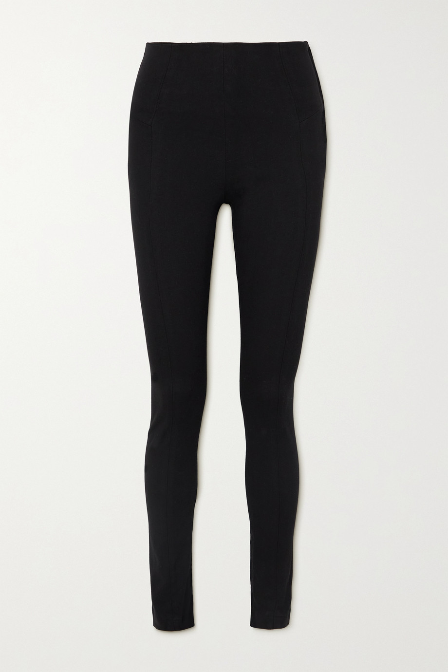 KSUBI Luna zip-detailed high-rise skinny jeans