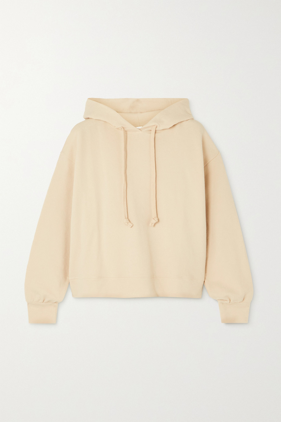 SKIN + NET SUSTAIN Elsie stretch organic cotton-jersey hoodie