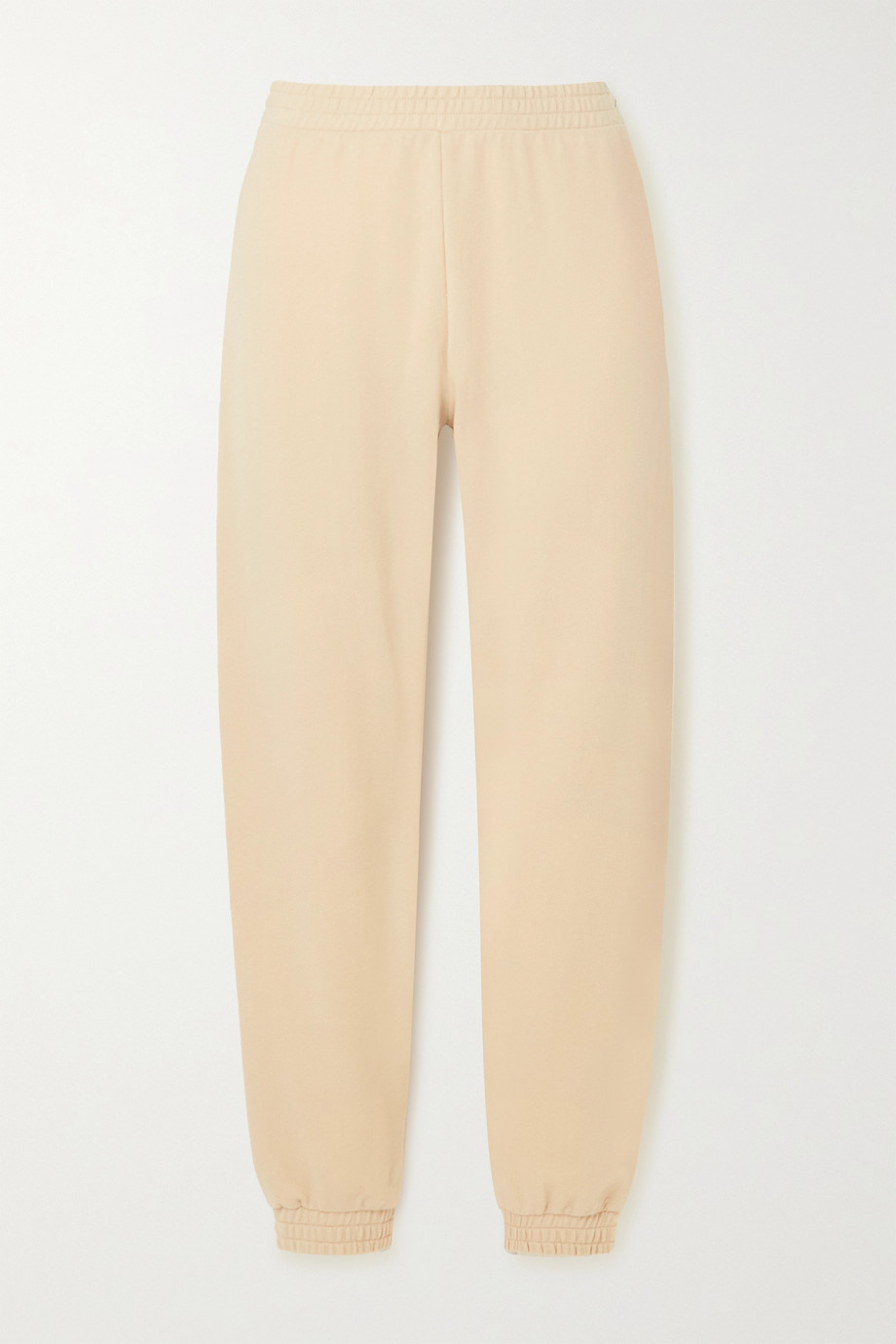 SKIN + NET SUSTAIN Emilie stretch organic cotton-jersey track pants
