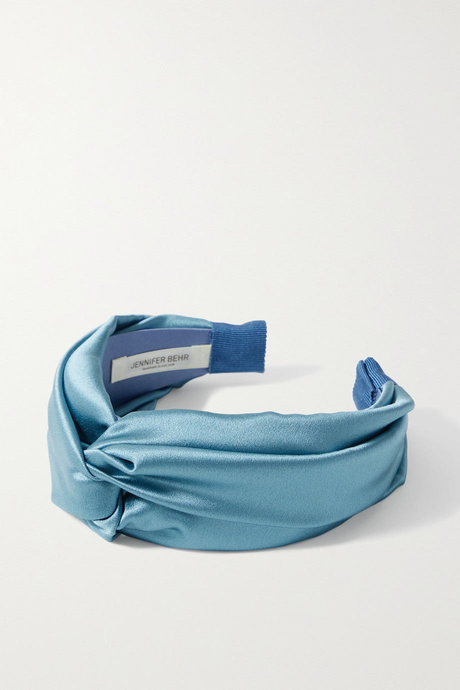 JENNIFER BEHR Twist silk-satin headband