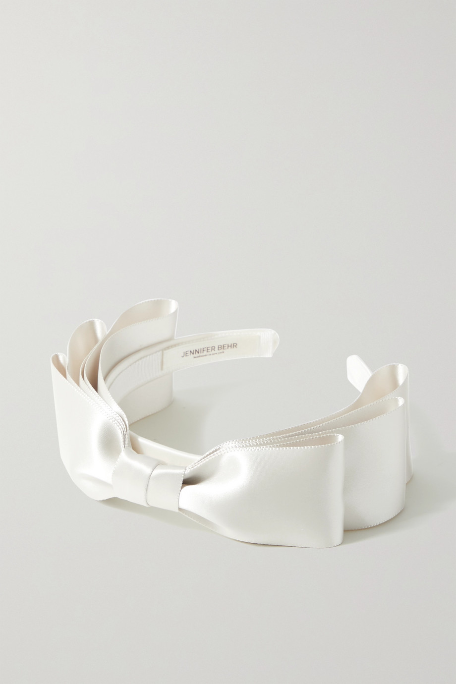 JENNIFER BEHR Katya bow-embellished satin headband
