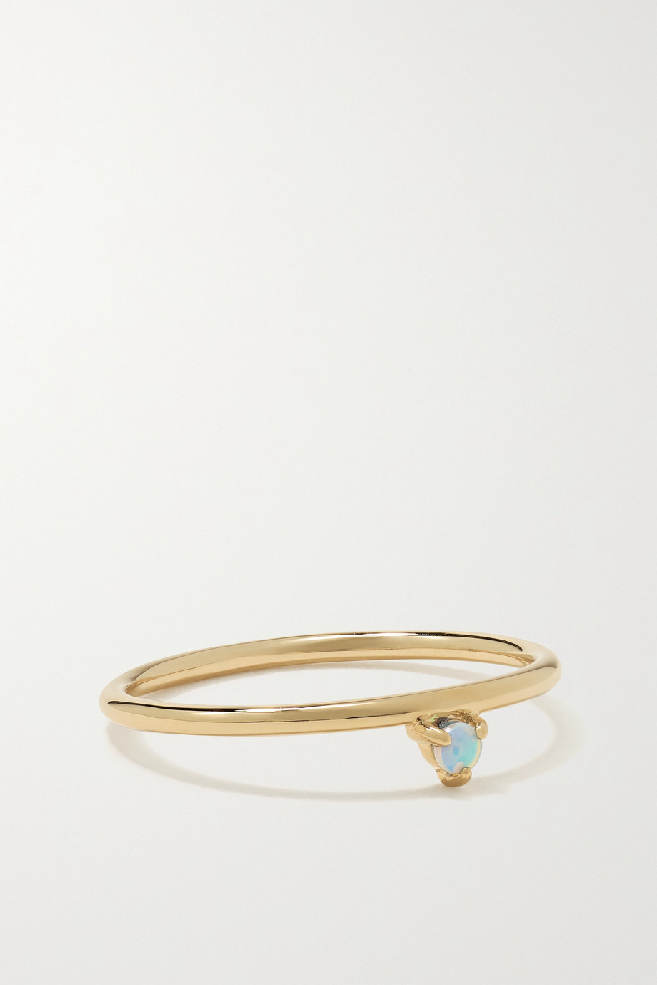 WWAKE One-Step gold opal ring