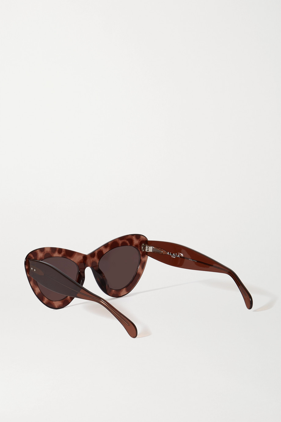 Alaïa Oversized cat-eye acetate sunglasses
