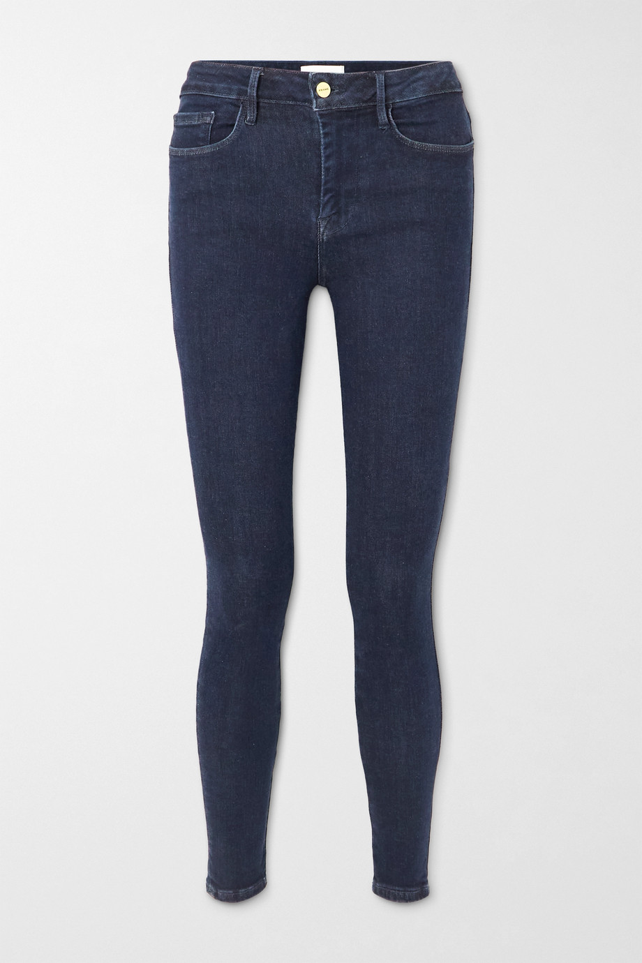 FRAME Le One high-rise skinny jeans
