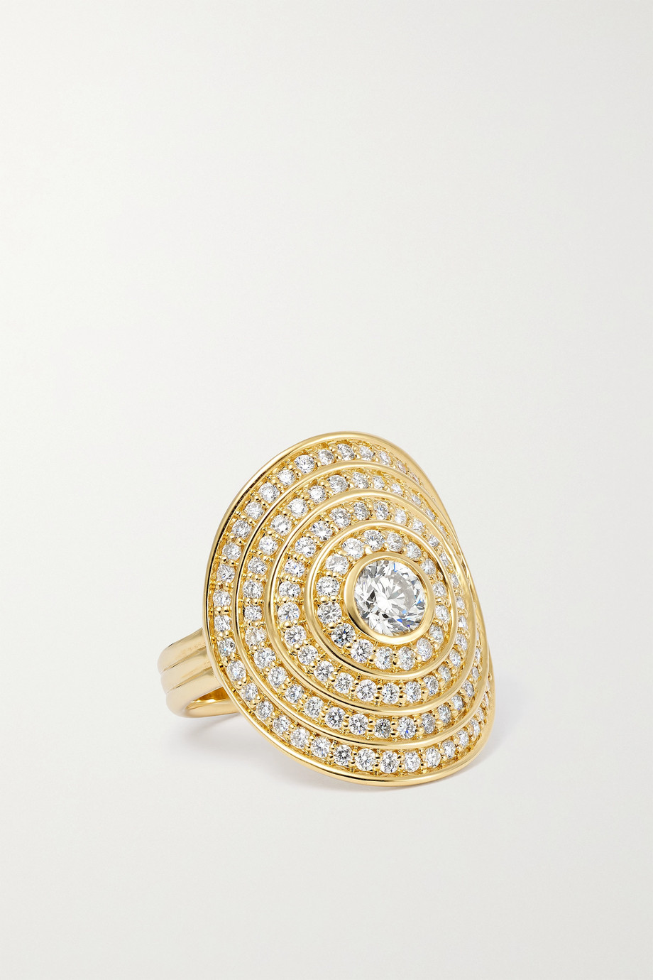 ALMASIKA Universum 18-karat gold diamond ring