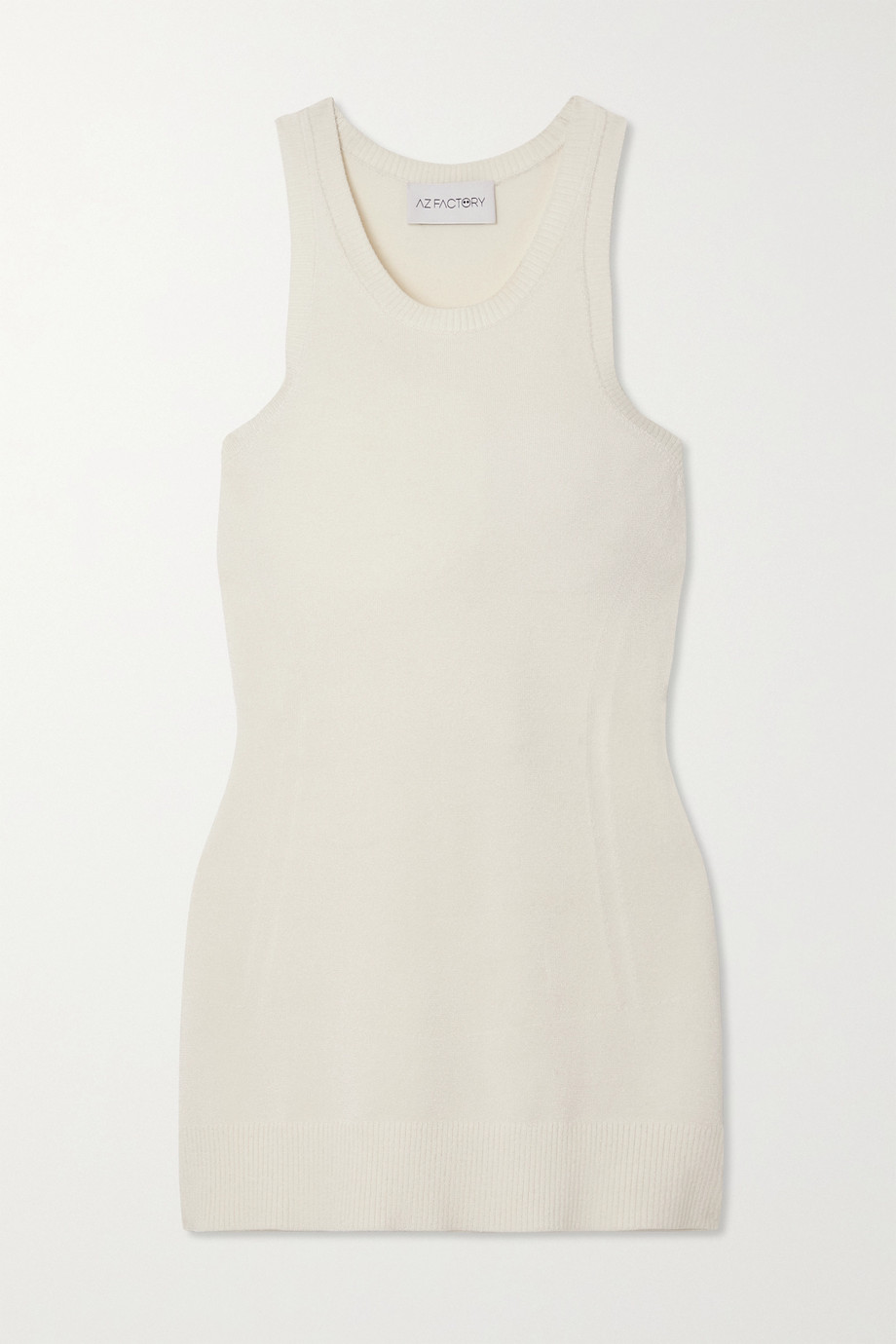AZ FACTORY MyBody stretch-knit tank