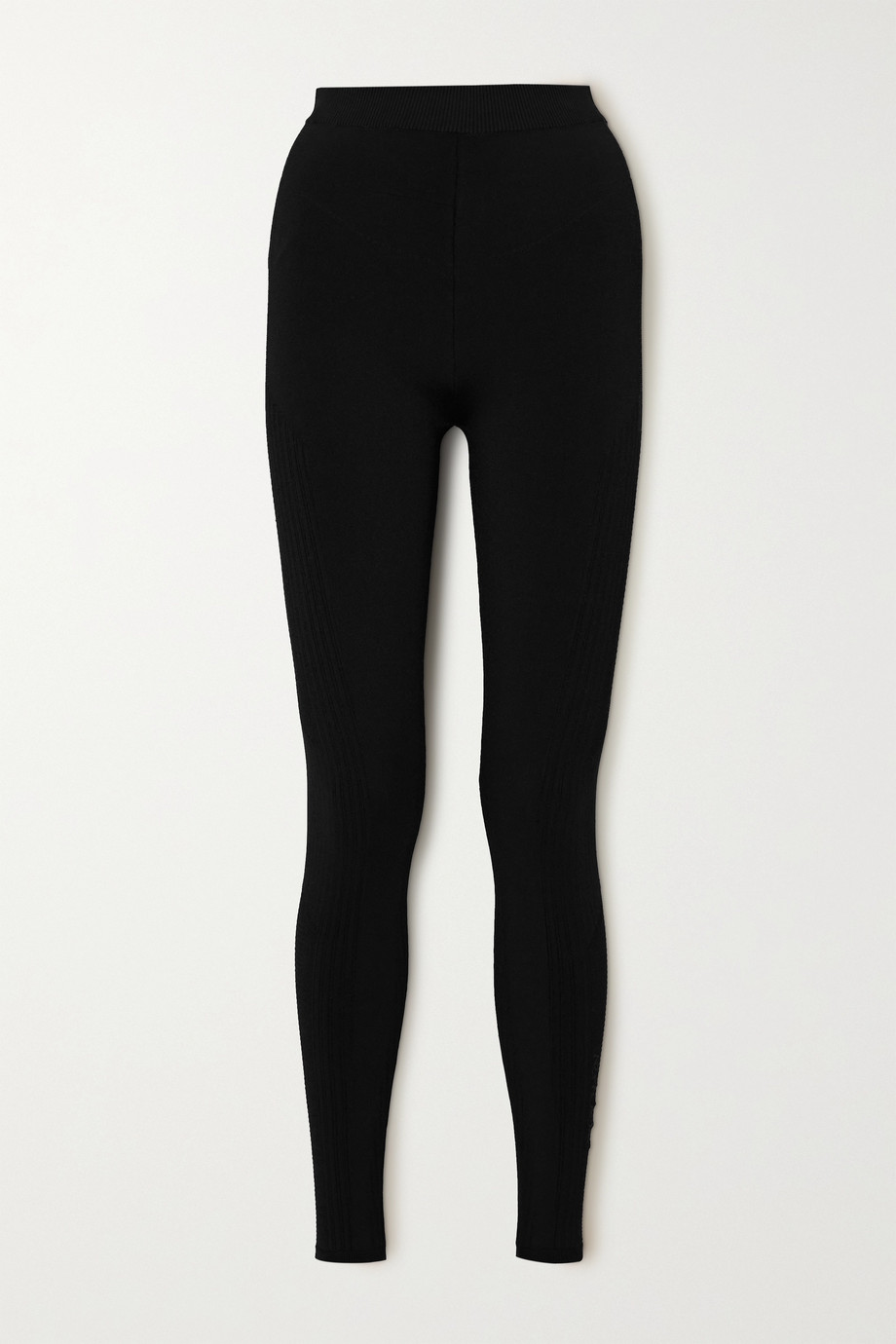 AZ FACTORY MyBody paneled stretch-knit leggings