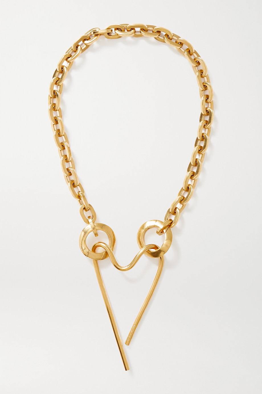 AZ FACTORY Gold-tone necklace