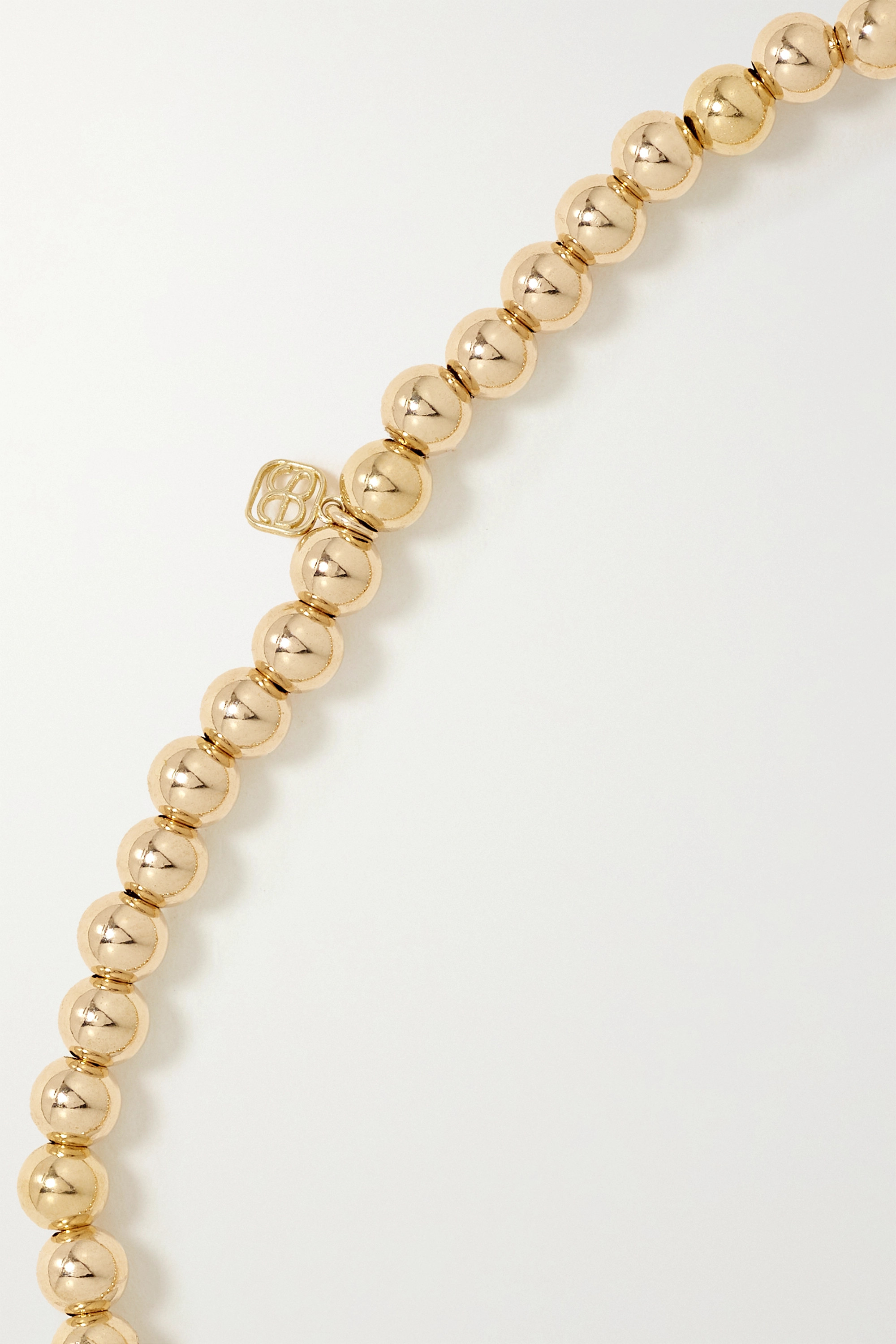 SYDNEY EVAN Lucky 7 14-karat gold diamond bracelet