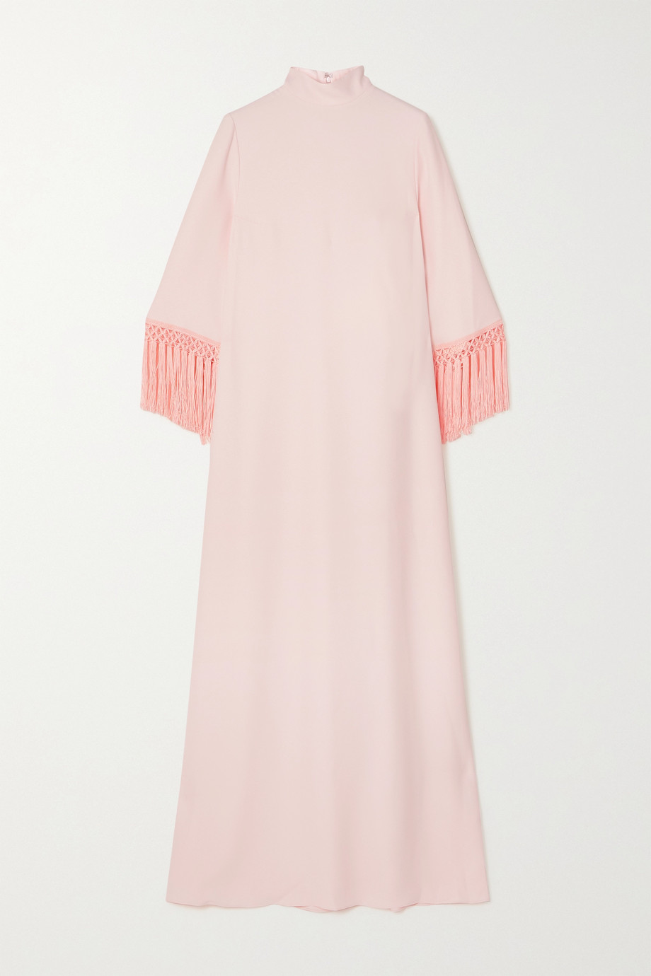 ANDREW GN Fringed crepe gown