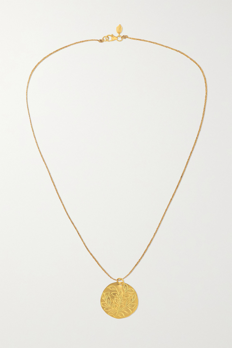 PIPPA SMALL 18 and 22-karat gold necklace