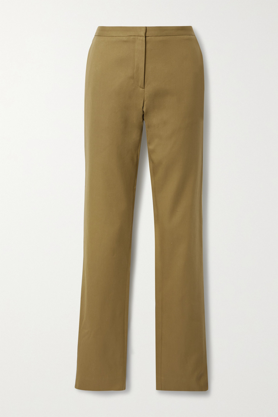 PETAR PETROV Gema cotton-twill slim-leg pants