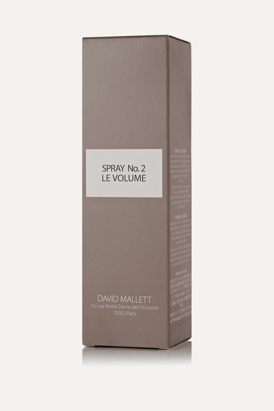 DAVID MALLETT Spray No.2: Le Volume, 150ml