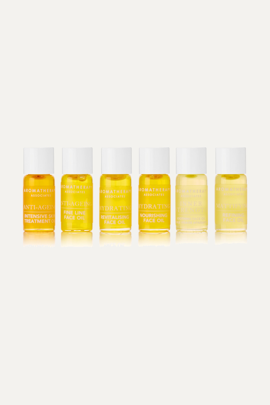 Aromatherapy Associates Face Oil Collection, 6 x 3ml