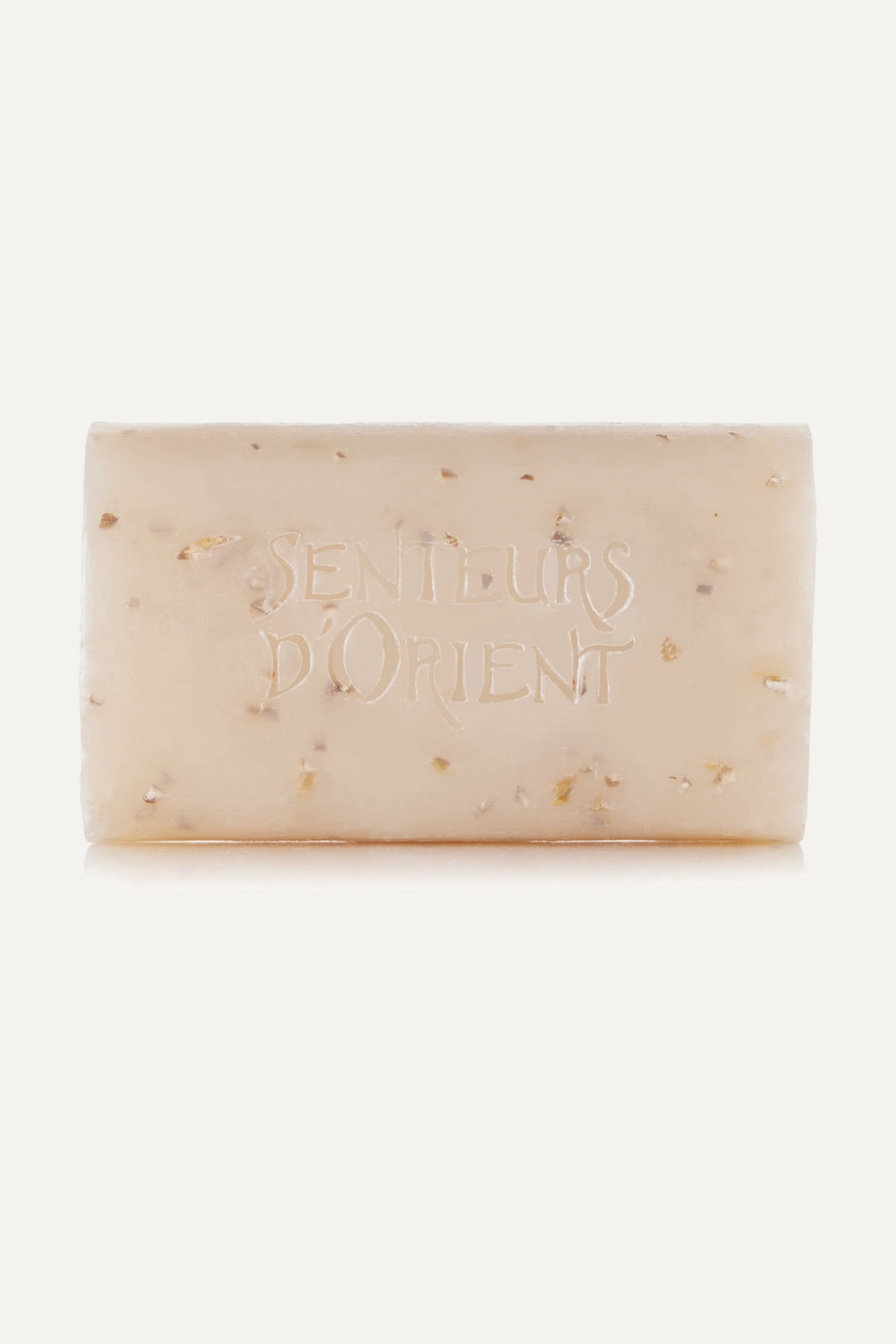SENTEURS D'ORIENT + NET SUSTAIN Rough Cut Bath Soap - Almond Exfoliant, 210g