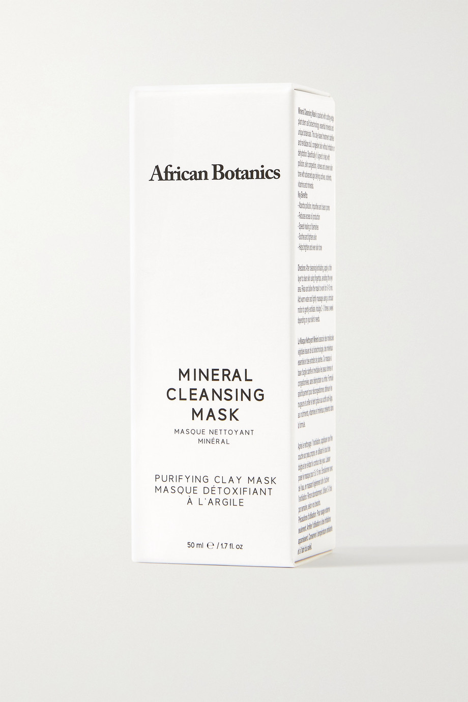AFRICAN BOTANICS + NET SUSTAIN Marula Mineral Cleansing Mask, 60ml
