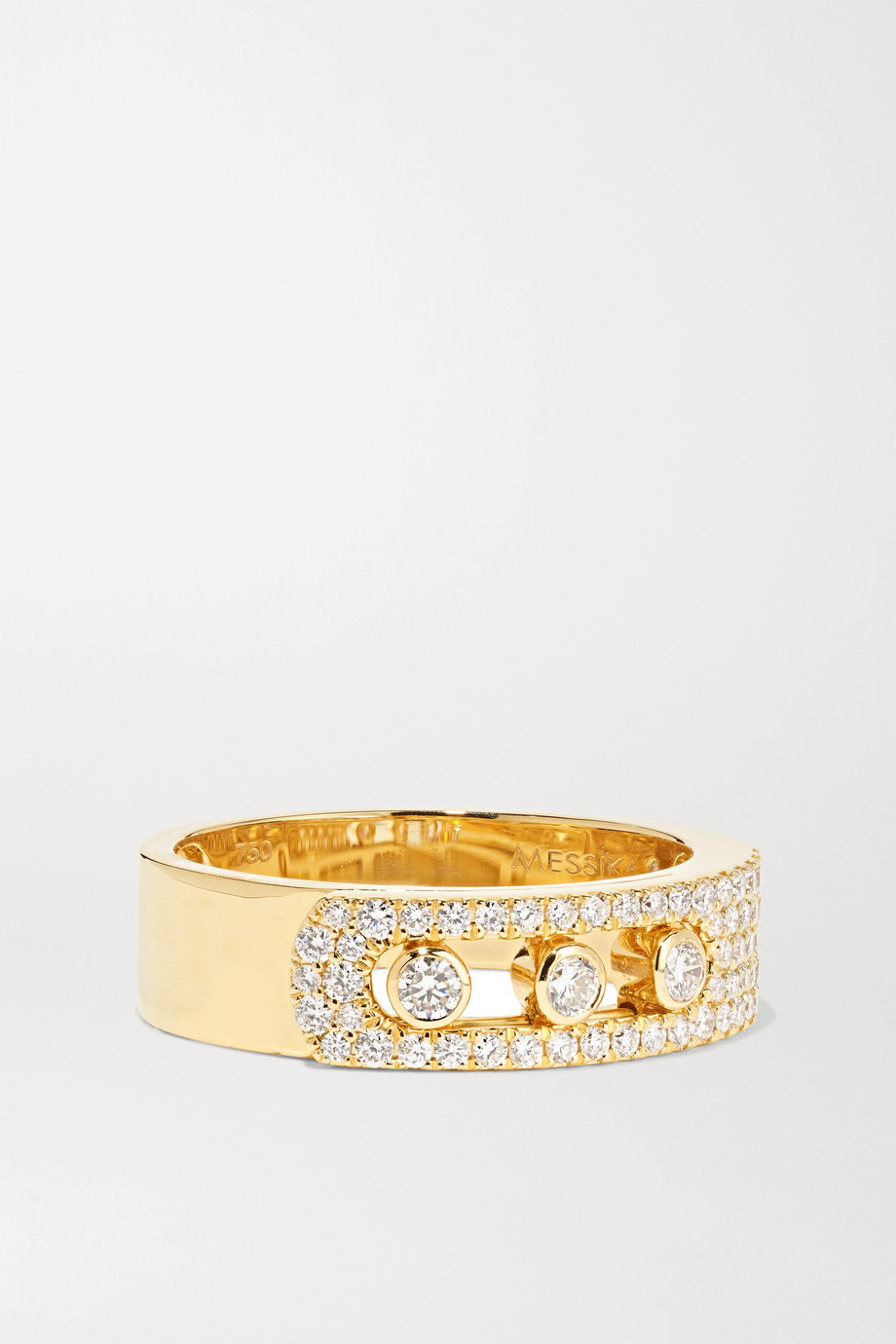 MESSIKA Move Noa 18-karat gold diamond ring