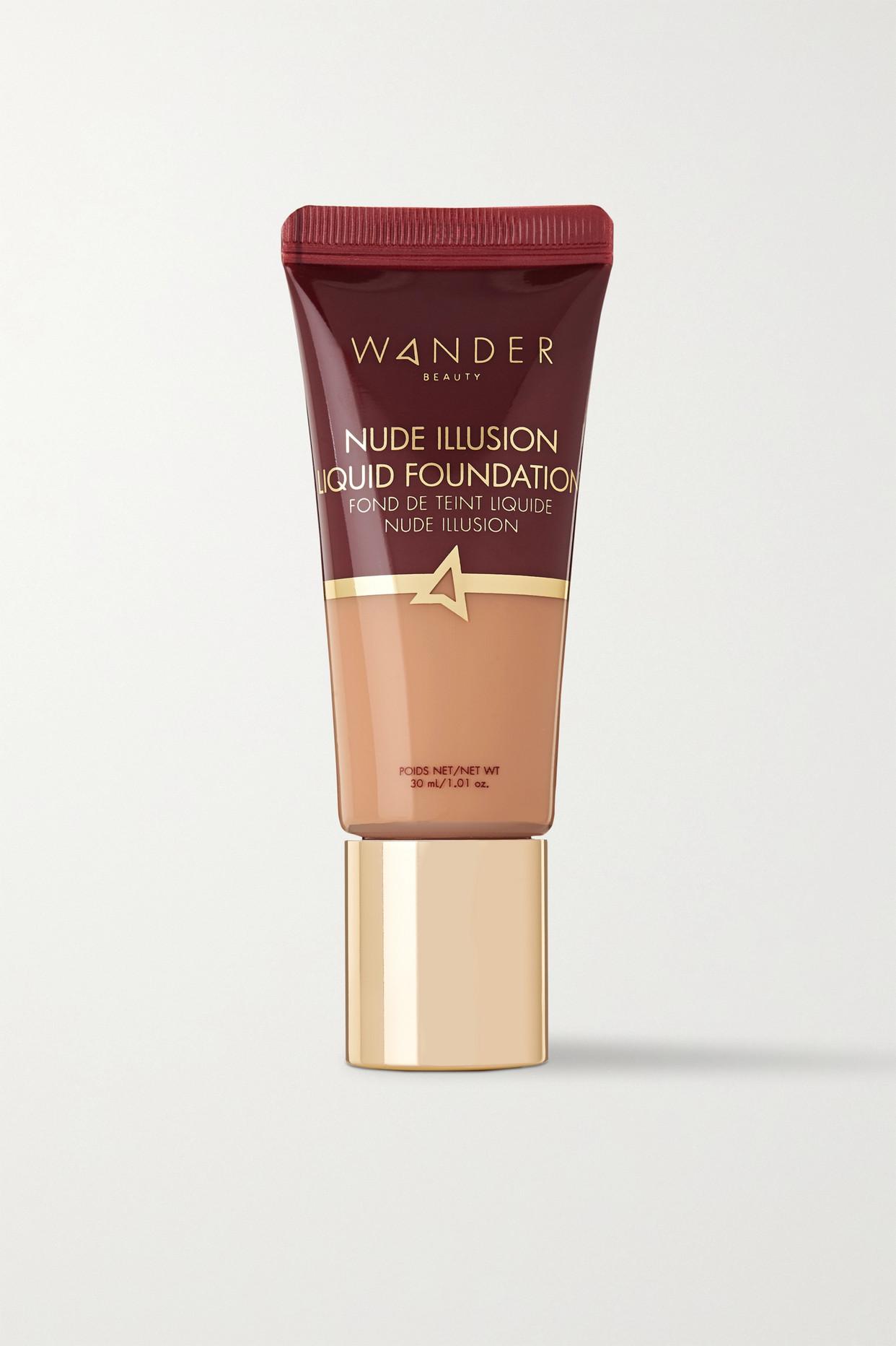 WANDER BEAUTY - Nude Illusion Liquid Foundation - Light Medium - Neutrals - one size