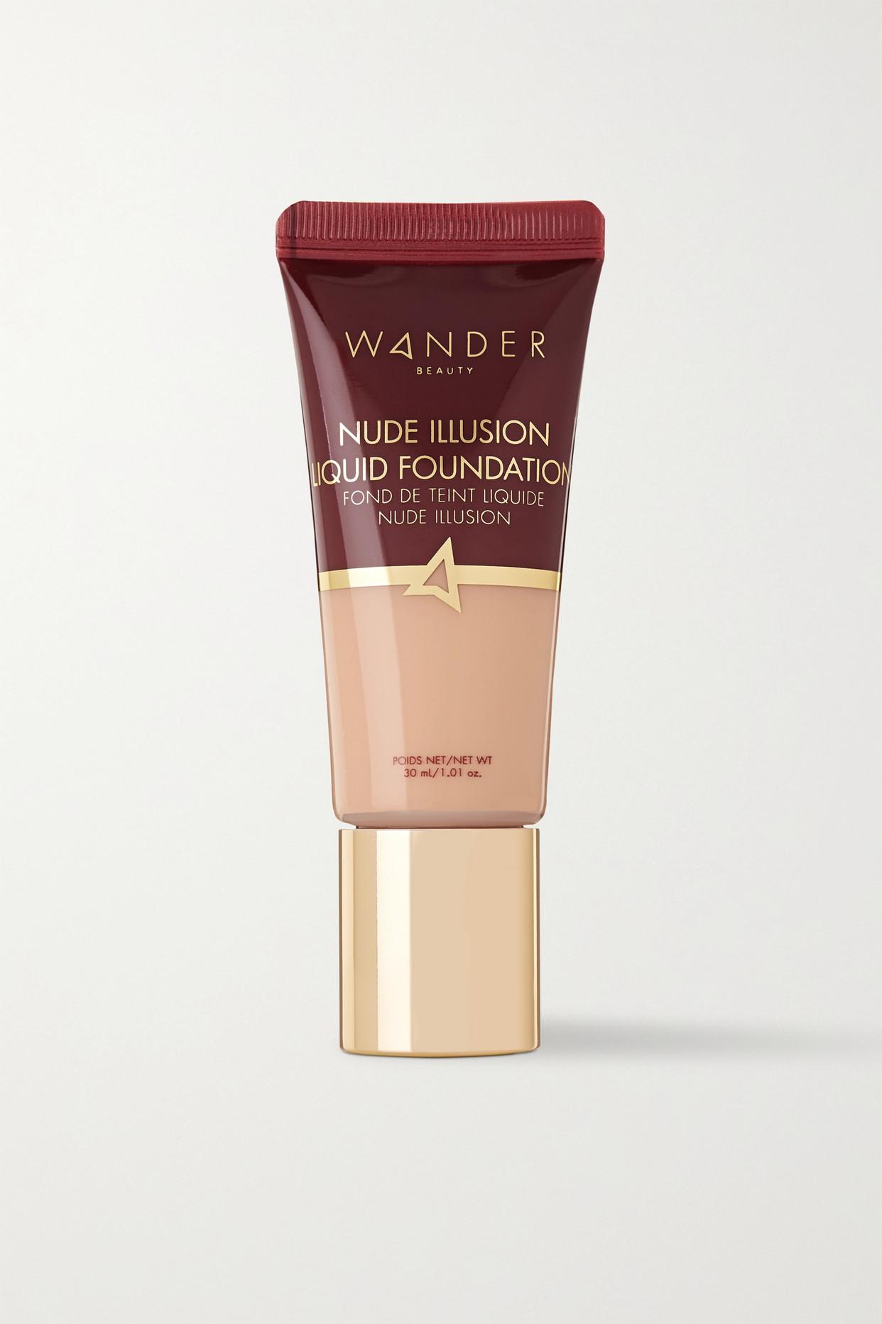 WANDER BEAUTY - Nude Illusion Liquid Foundation - Fair Light - Neutrals - one size