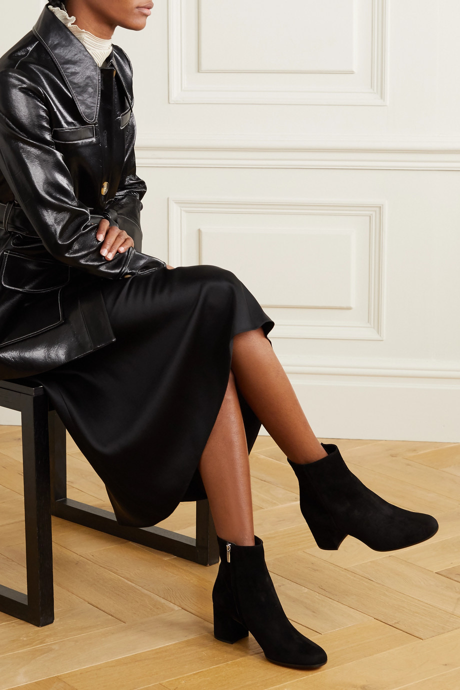 GIANVITO ROSSI Margaux 65 suede ankle boots
