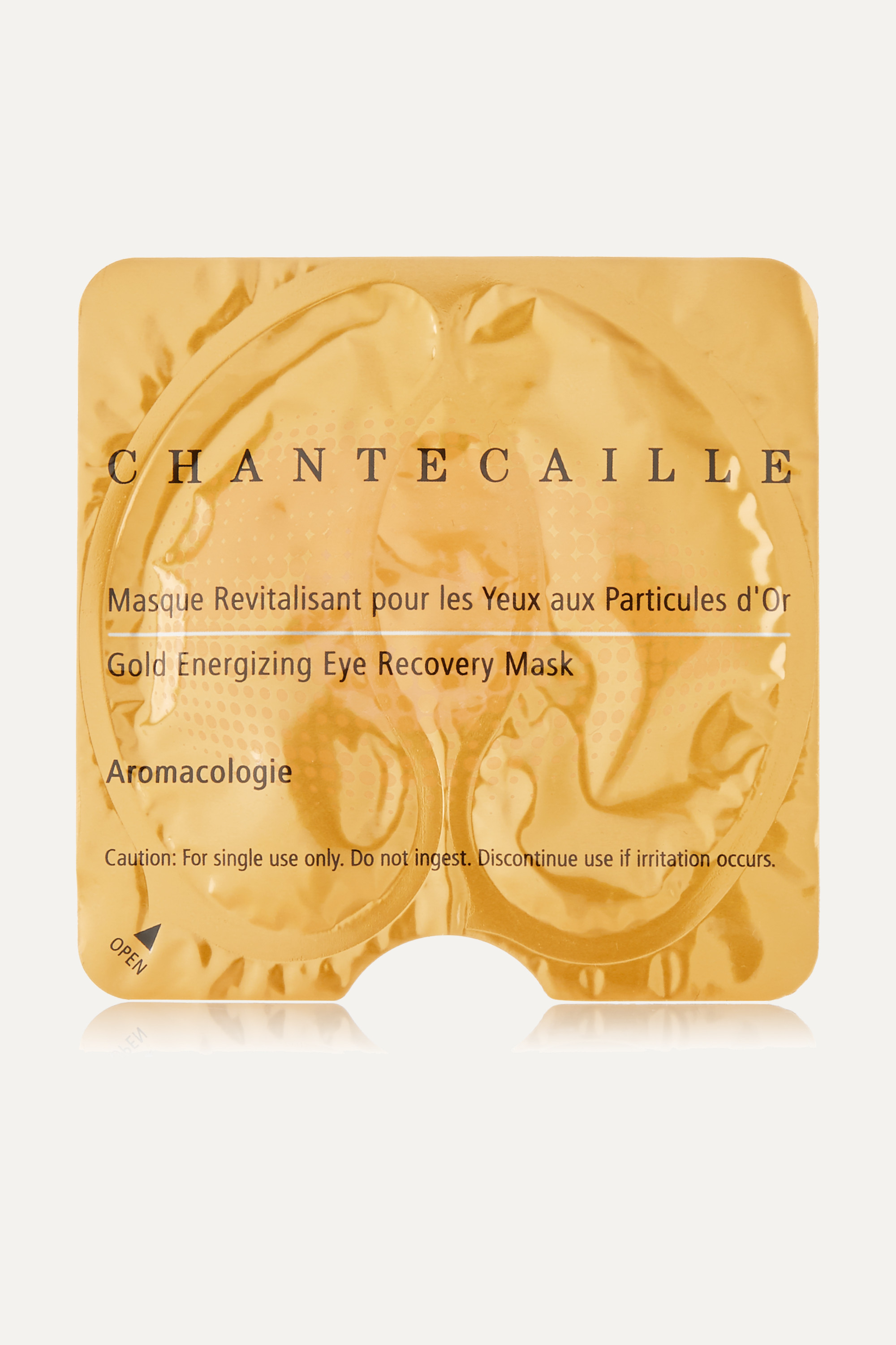 CHANTECAILLE Gold Energizing Eye Recovery Mask x 8