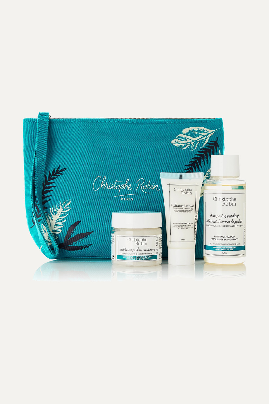 CHRISTOPHE ROBIN Detox Hair Ritual Travel Kit