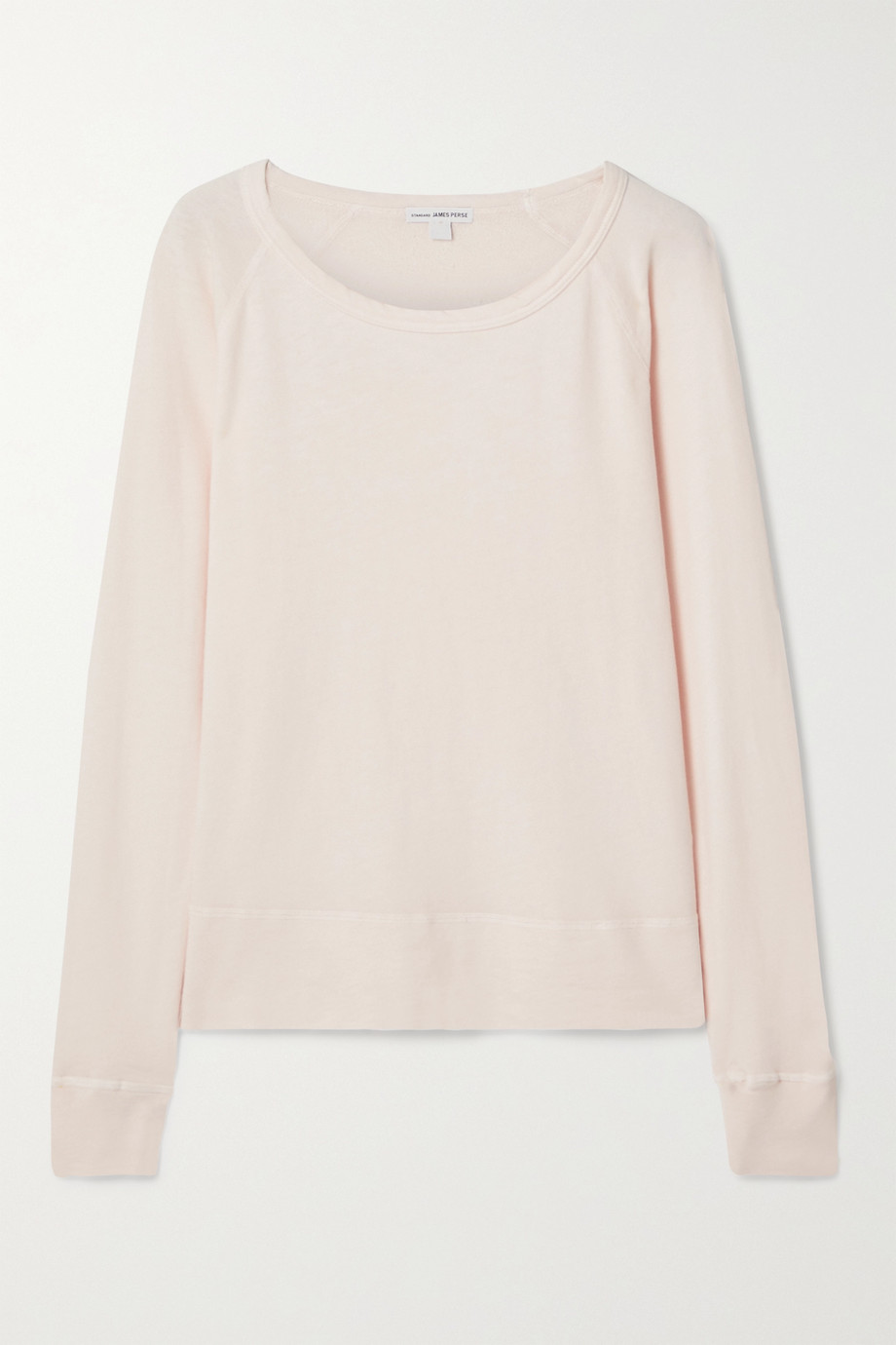 JAMES PERSE Cotton-terry top