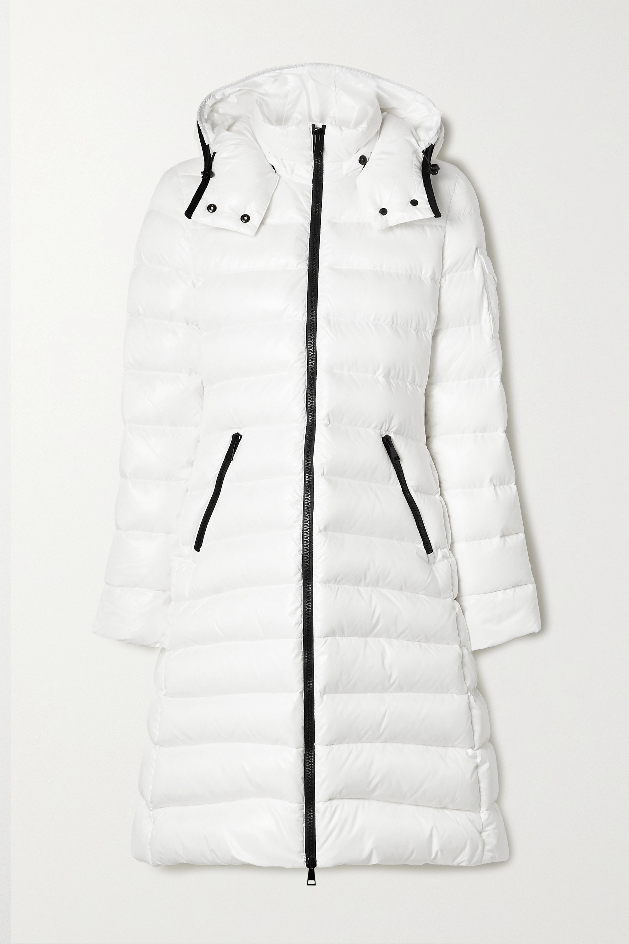 MONCLER Moka hooded quilted shell down coat
