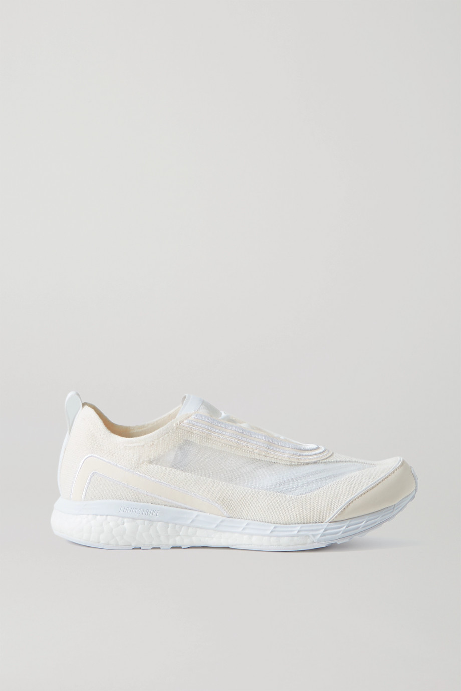 ADIDAS BY STELLA MCCARTNEY Boston mesh and Primeknit sneakers