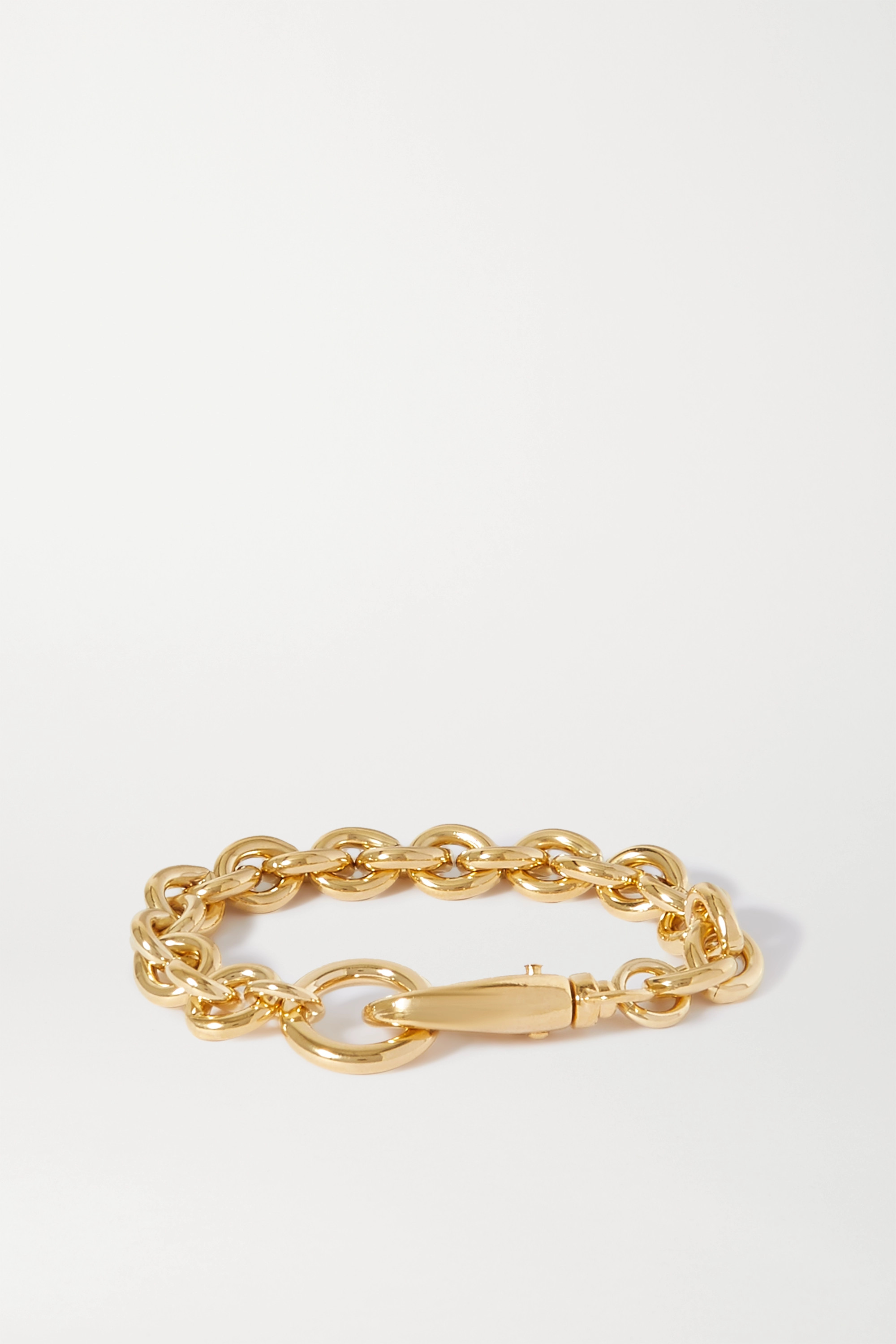 LAURA LOMBARDI Cable gold-plated bracelet