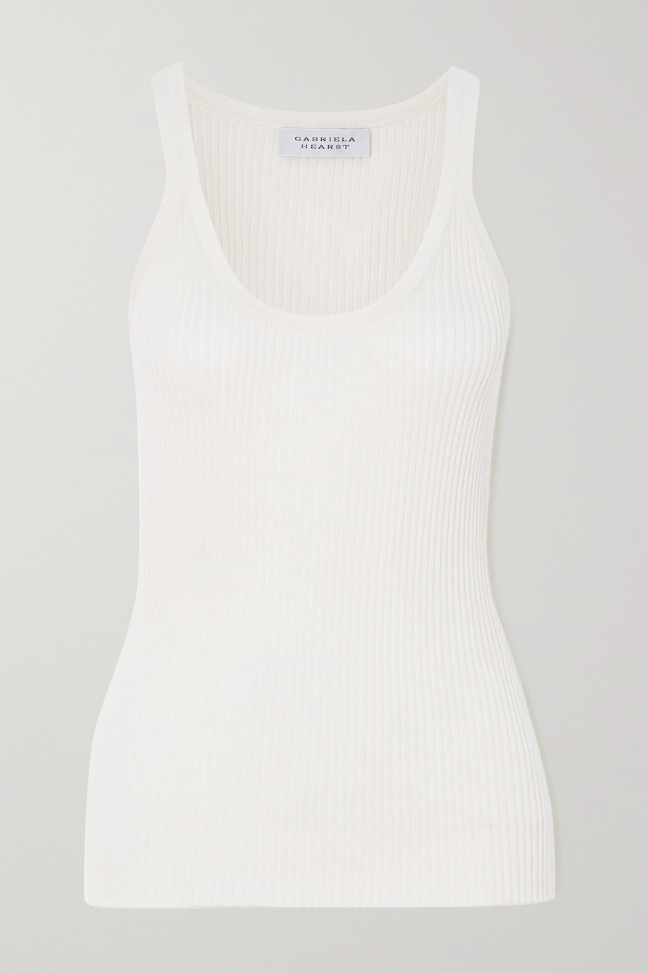 Gabriela Hearst Daniel ribbed wool tank top