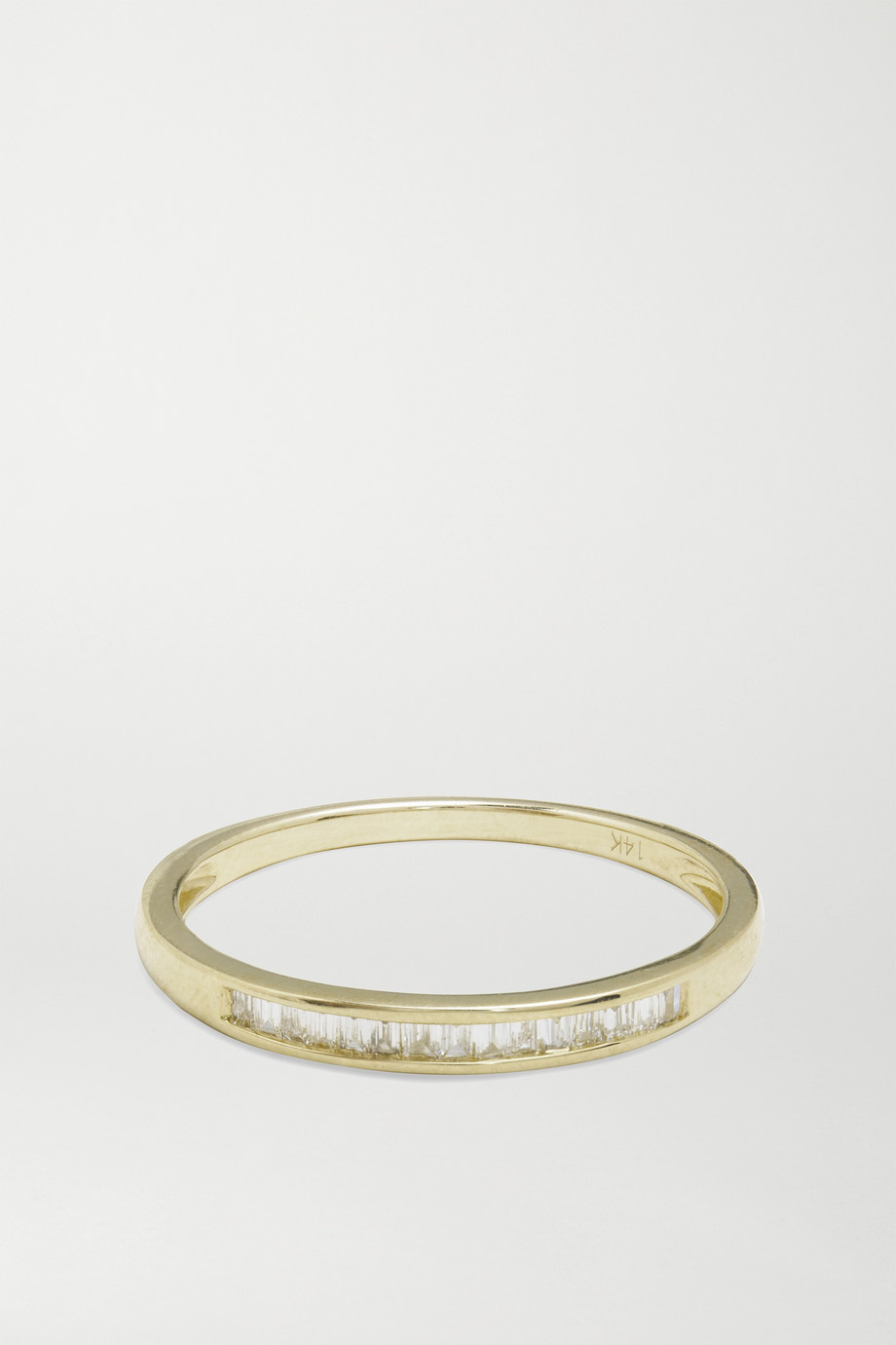 STONE AND STRAND On The Upside 14-karat gold diamond ring