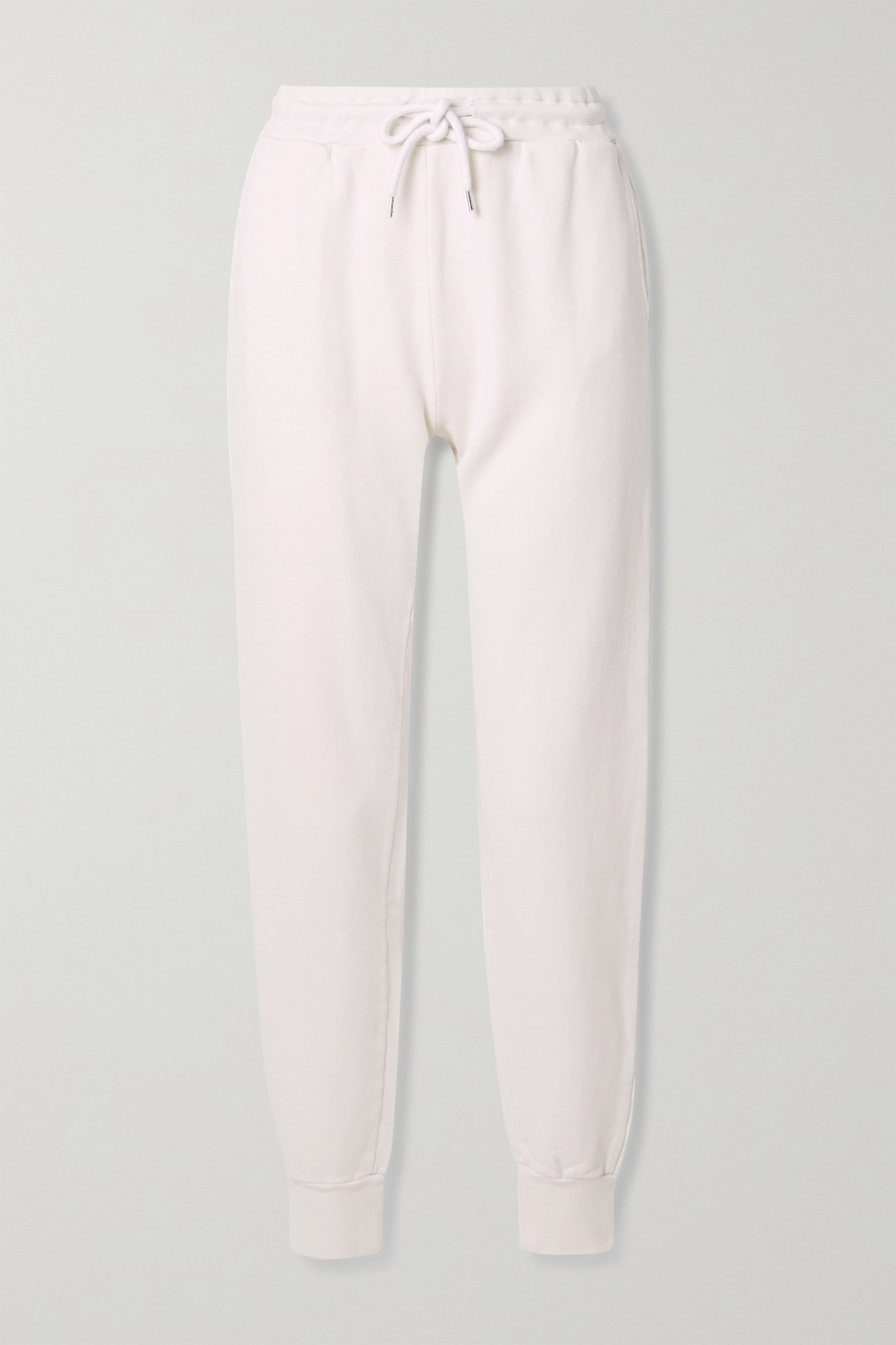 ANINE BING Saylor cotton-jersey track pants