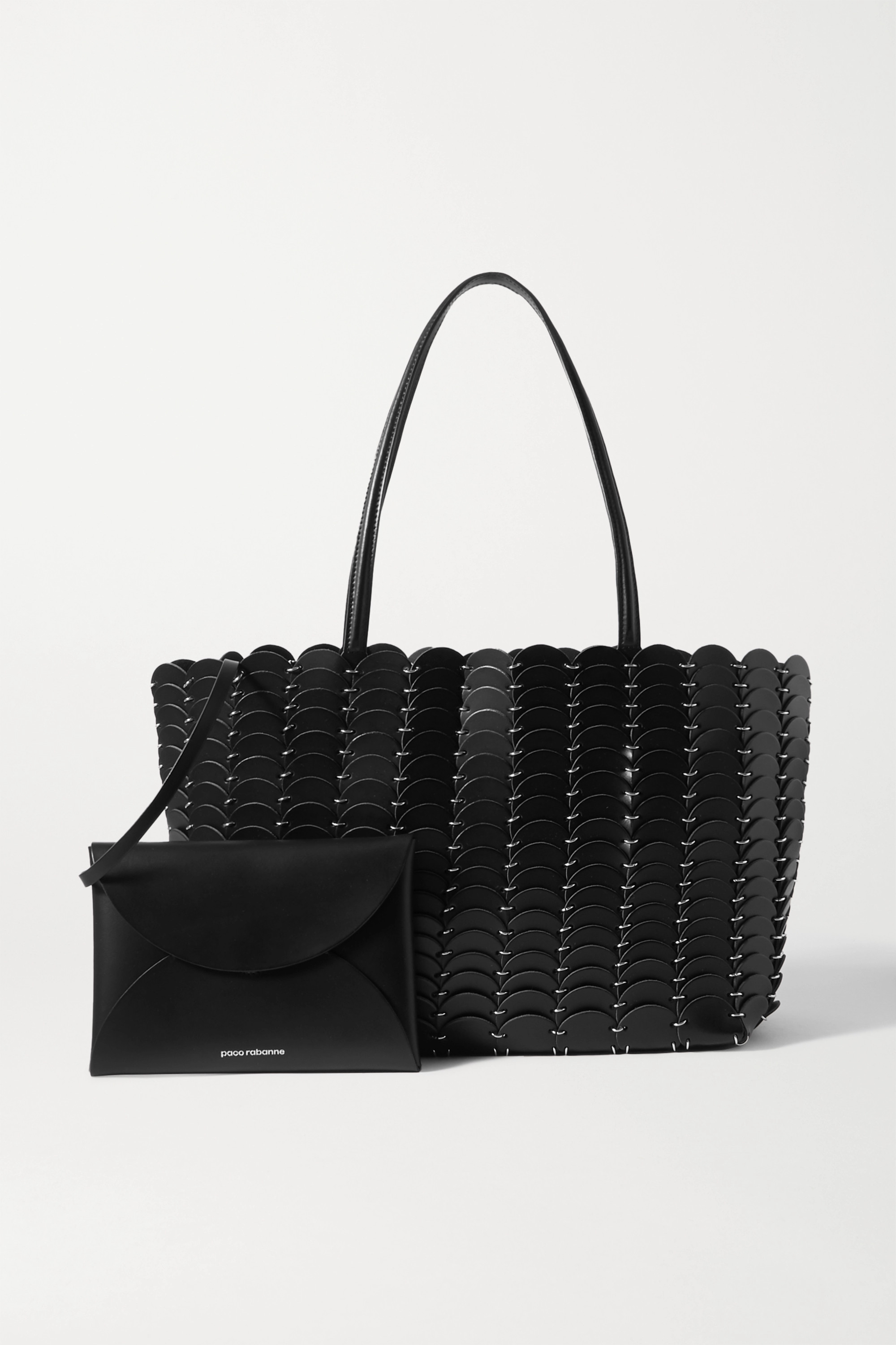 PACO RABANNE Leather tote