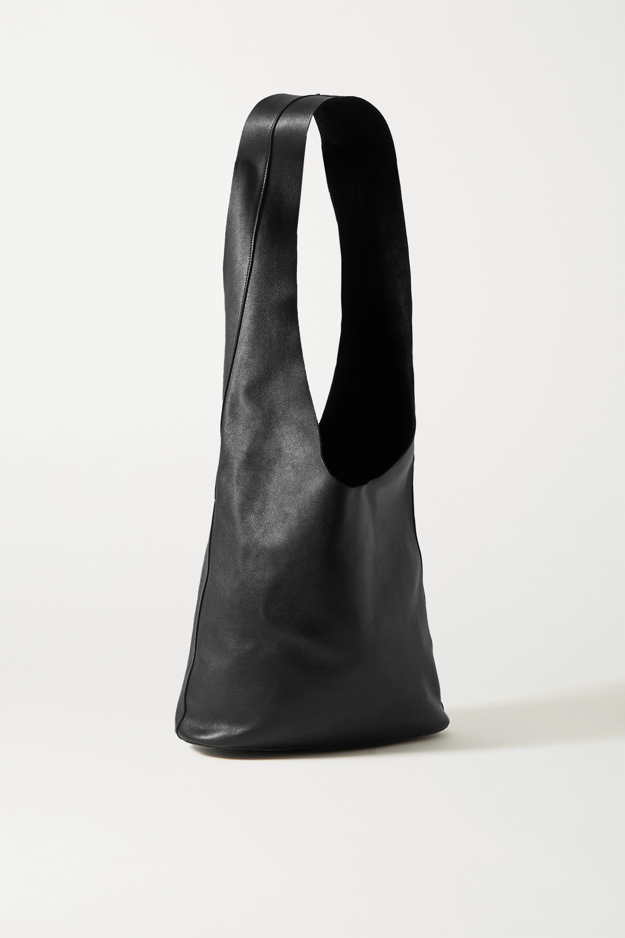 THE ROW Bindle 3 textured-leather shoulder bag