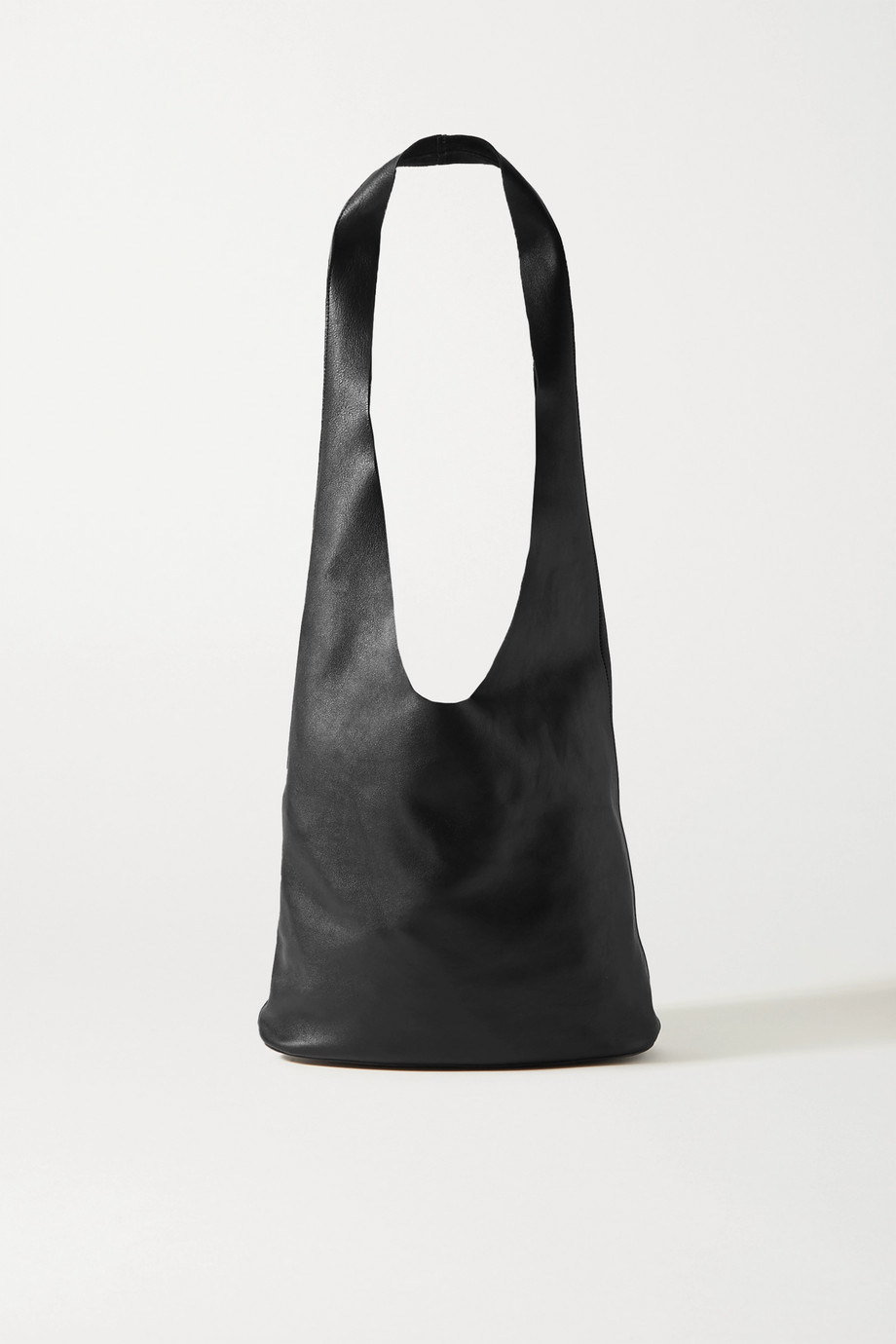 The Row Bucket Hobo leather shoulder bag