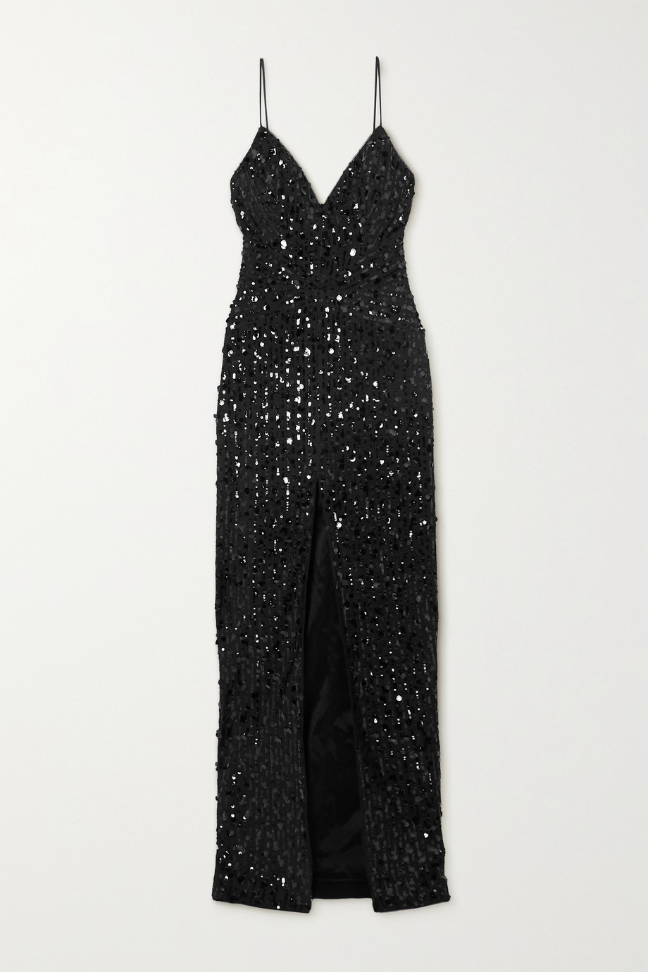 RASARIO Sequin-embellished tulle gown