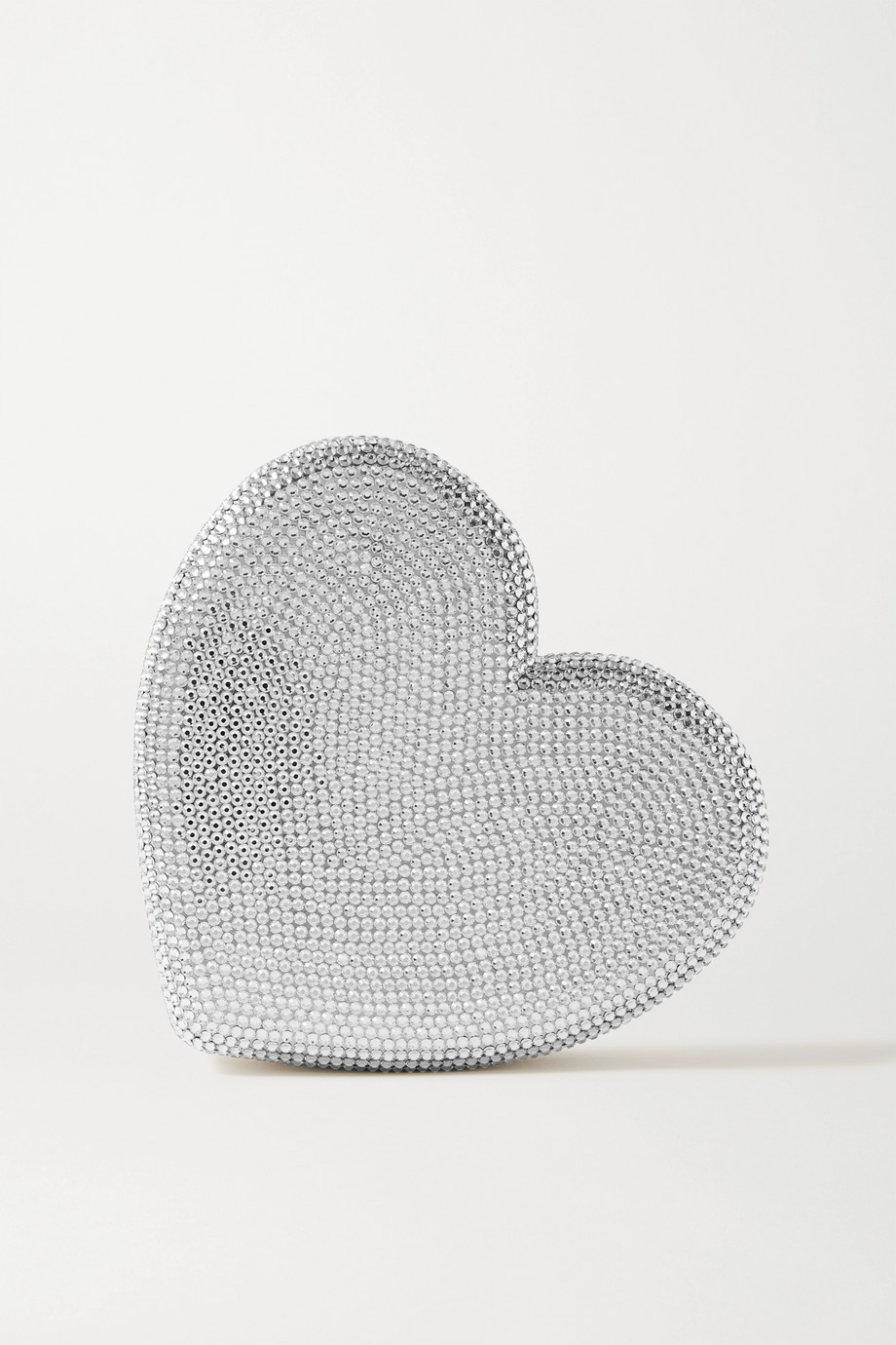 Judith Leiber Couture Heart crystal-embellished clutch