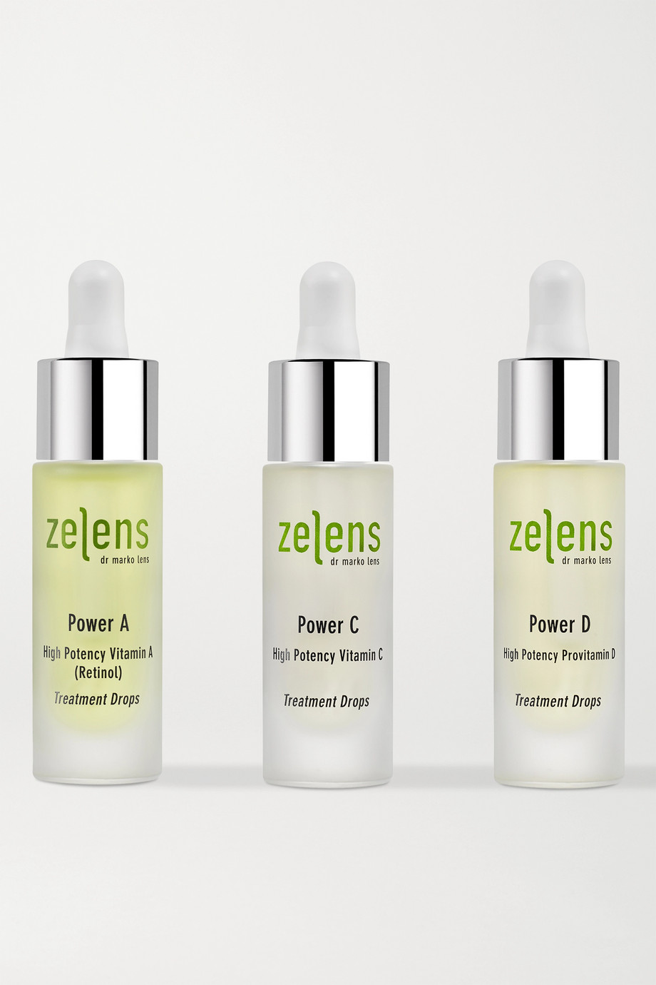 ZELENS Power Trio Set, 3 x 10ml