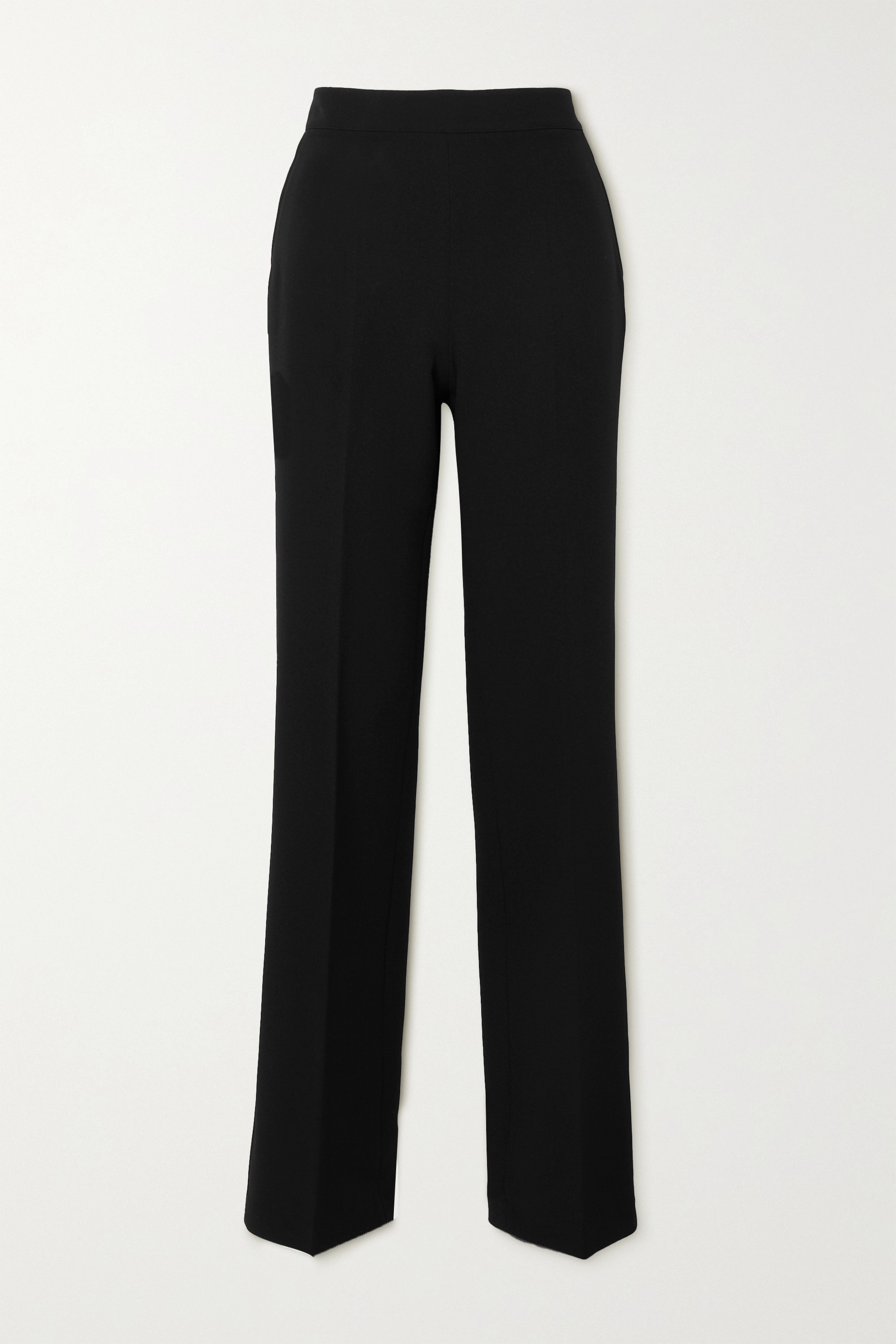 SAFIYAA Goldie stretch-crepe straight-leg pants