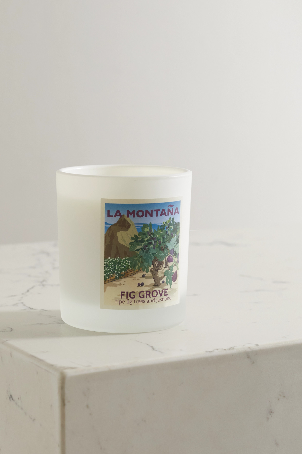 LA MONTAÑA - Fig Grove Scented Candle, 220g - one size